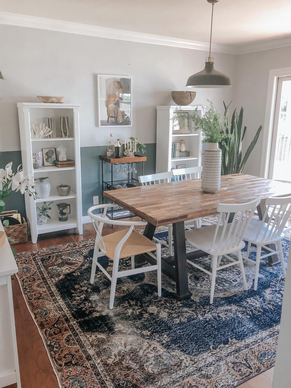 Choosing The Right Rug Size Burnett, Dining Room Rug Size