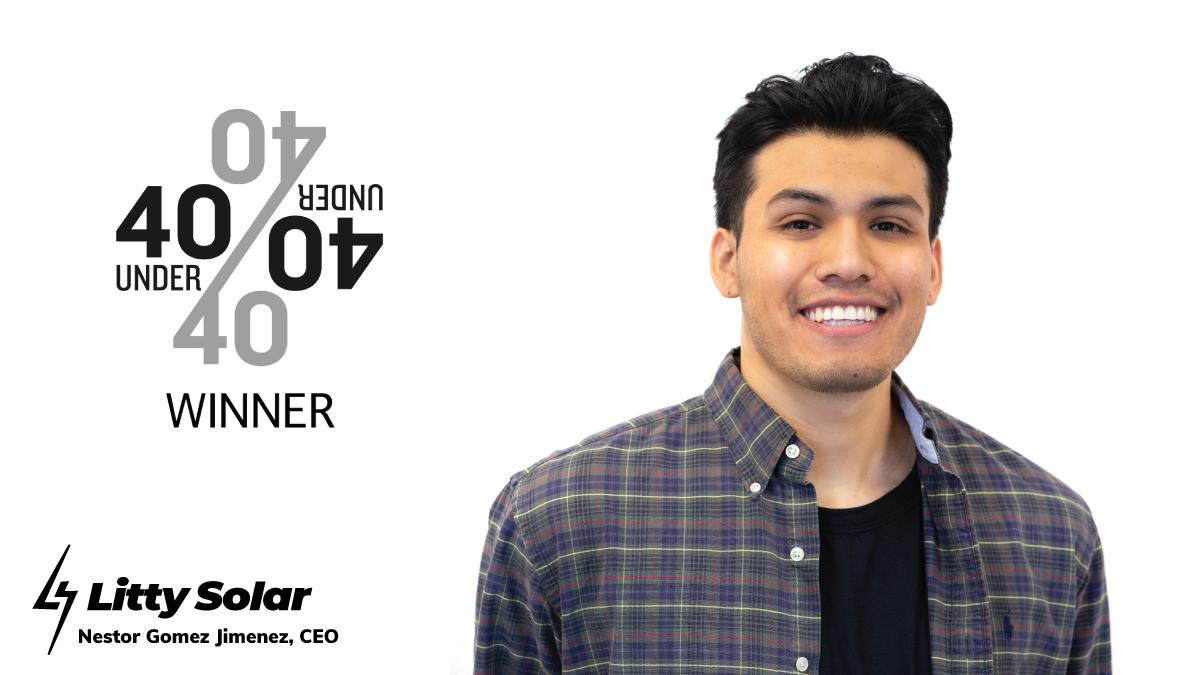 Nestor Gomez Jimenez, CEO of Litty Solar.