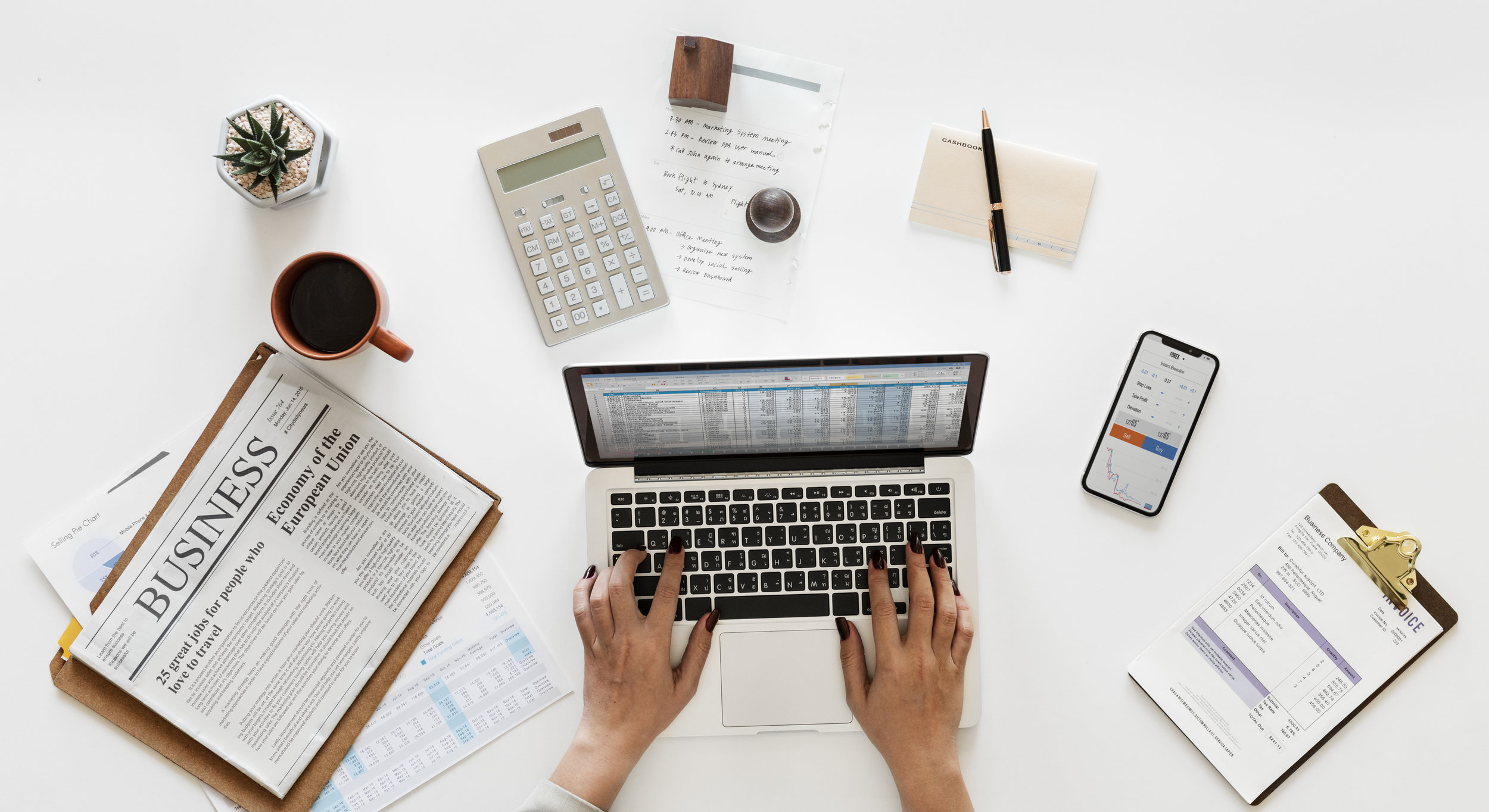 Accounting - the foundation for effectively managing your business - Having accurate accounting records is the foundation for running a healthy, profitable business.We'll take care of your monthly accounting needs and have monthly meetings with you and your team to discuss your numbers and make adjustments.