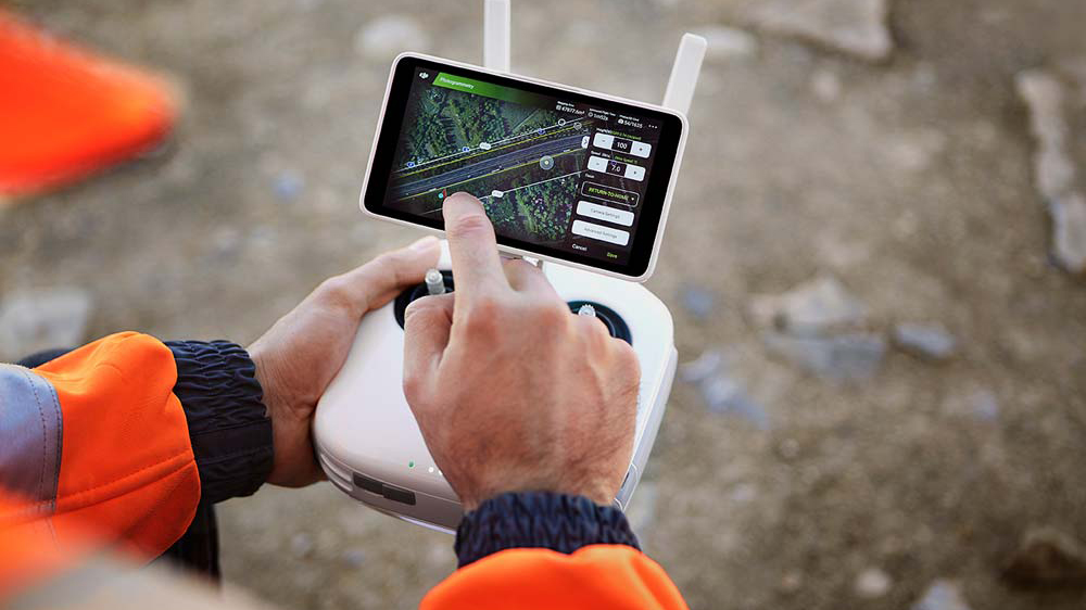 Drones for Surveying -