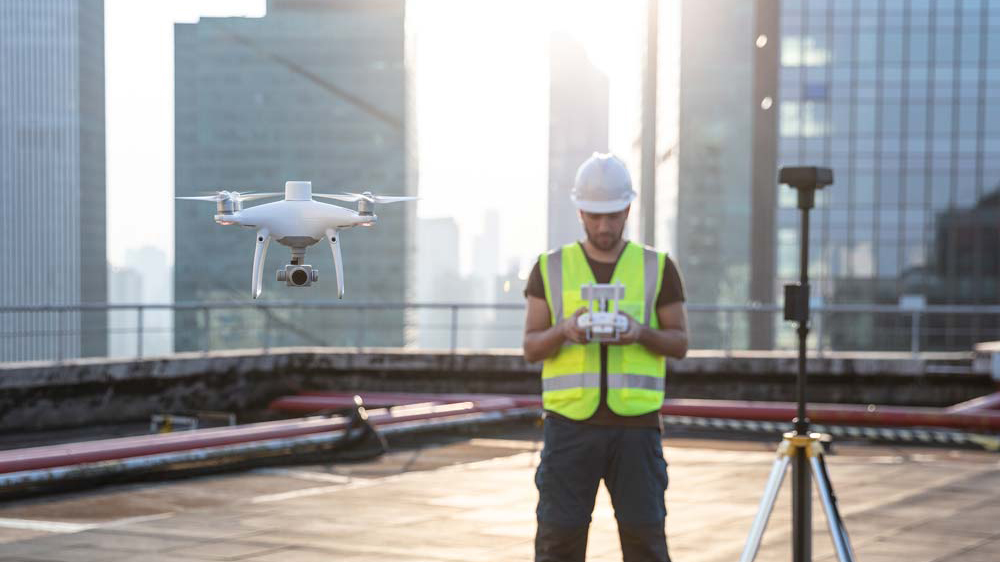 DRONES FOR CONSTRUCTION -