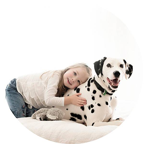 dogs and their kids -