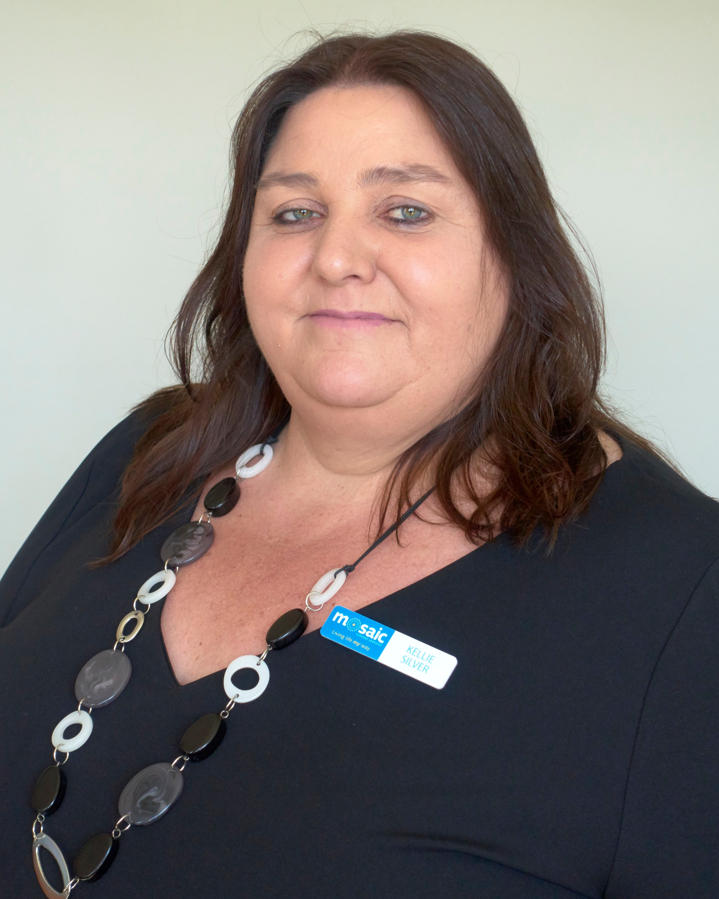 Kellie Silver - General Manager – Community AccessKellie leads the creative, health and wellbeing programs, camp, vacation care options, social activities, skills based and individualised programs for Mosaic.Kellie has been with Mosaic since 2003, starting her career with the organisation as a Disability Support Worker, then progressing to a Key Worker position, then on to Team Leader, before moving to her current position. In 2009 Kellie was the winner of the NDS Inaugural Alex Tubb Disability Young Worker of the Year Award.Kellie has a Bachelor of Arts with Professional Honours from the University of Tasmania, which locked in and formalised her very extensive hands on experience working with people with disabilities.