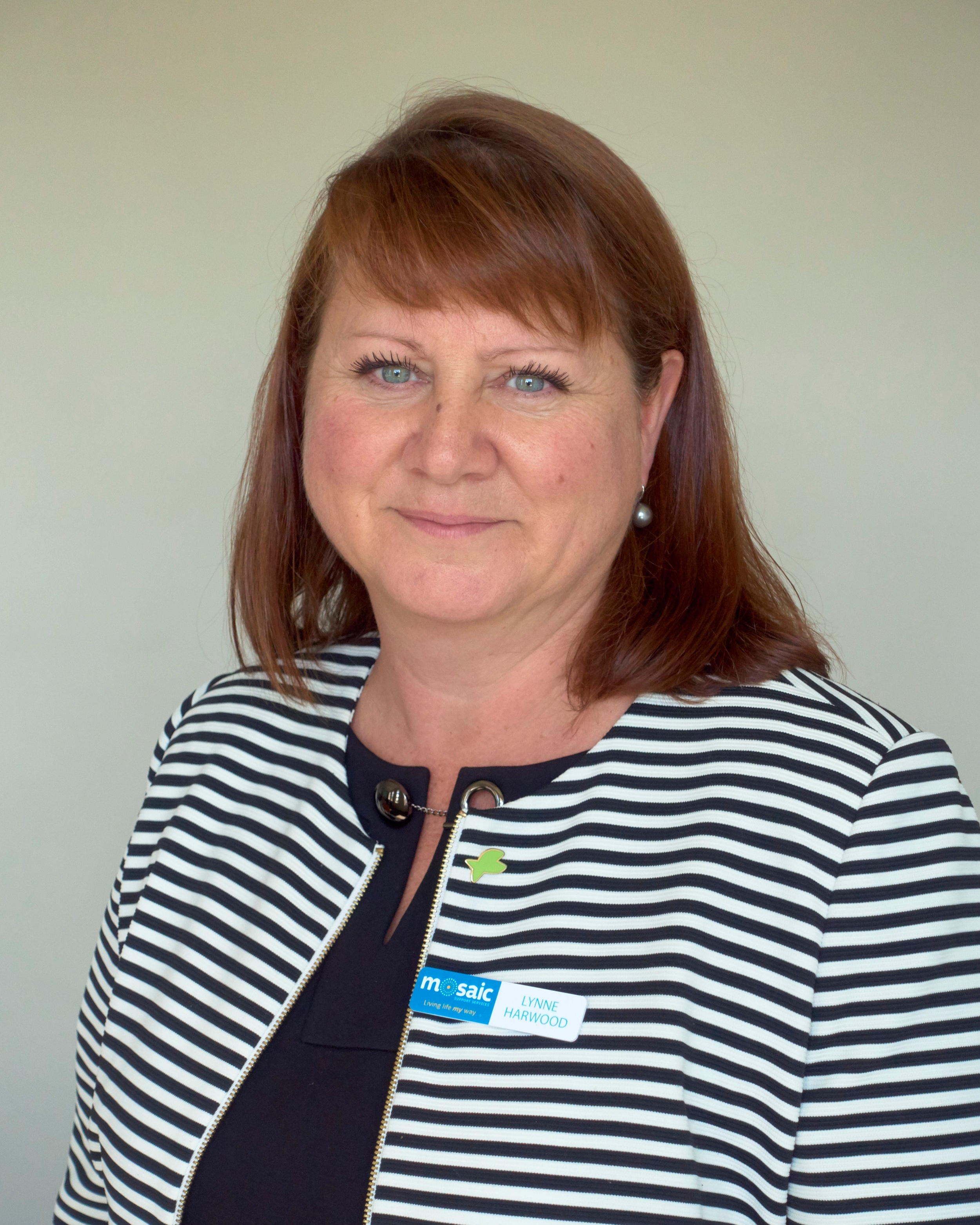 "Lynne Harwood - Chief Executive OfficerLynne joined Mosaic in September 2018 with a goal to transform the organisation from ""Good to Great"" using the Fish! Philosophy and her extensive experience in leading organisations and people and marshalling resources to gain the best outcomes.Lynne holds a Bachelor of Commerce and is a Certified Practising Accountant, which provides a strong base for her professional guidance. Prior to Mosaic, Lynne has been a successful Chief Executive Officer of four community organisations, across two states, over an 18 year period and her professional passion is finding the ideal balance between the organisation's ""Client Purpose"" and effective ""Business Acumen"" to ensure truly sustainable futures.Lynne is delighted to be a new Tasmanian and has wasted no time in shaping Mosaic towards its optimum potential for the clients and families we serve and the people we employ."
