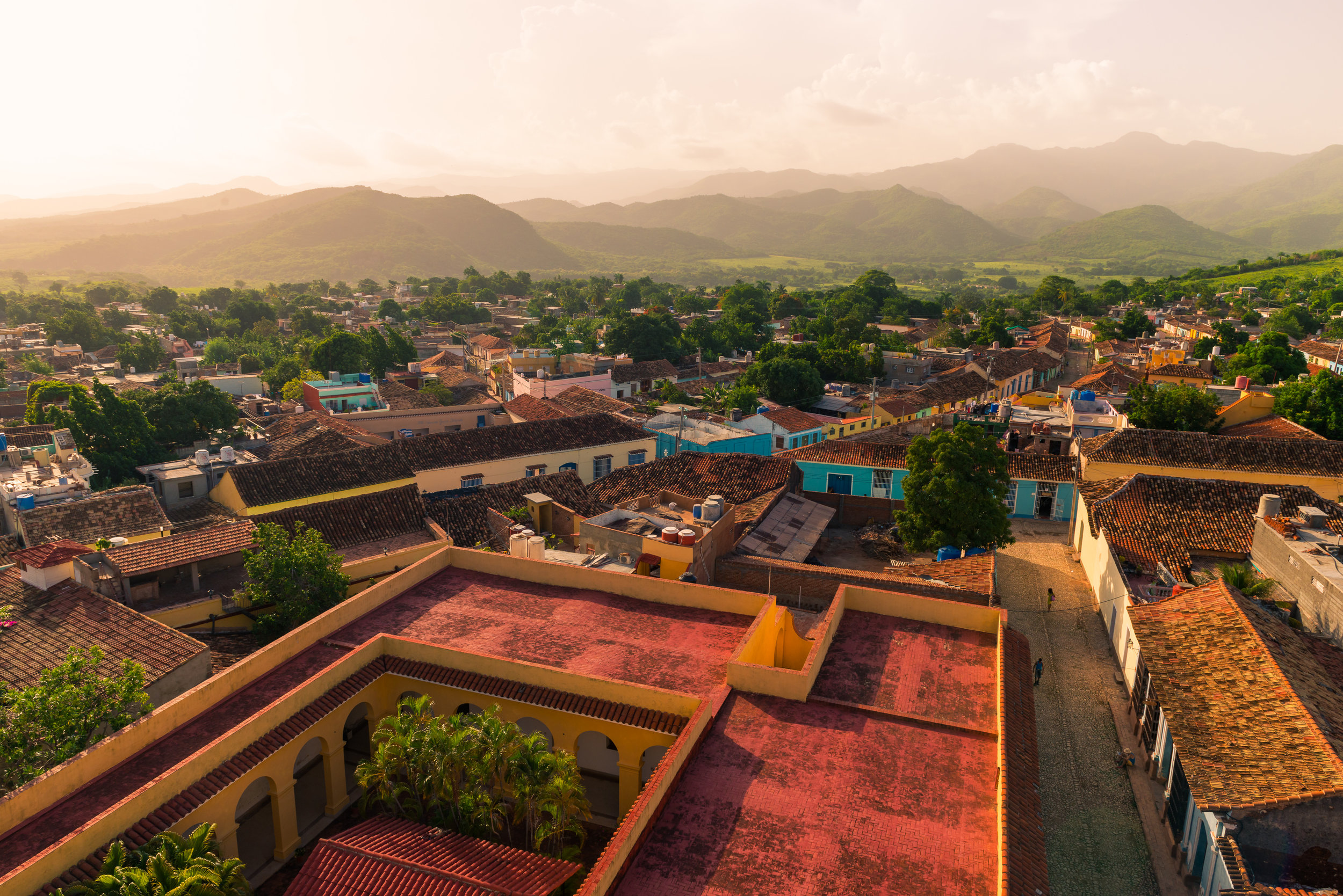 The Rooftops of Trinidad