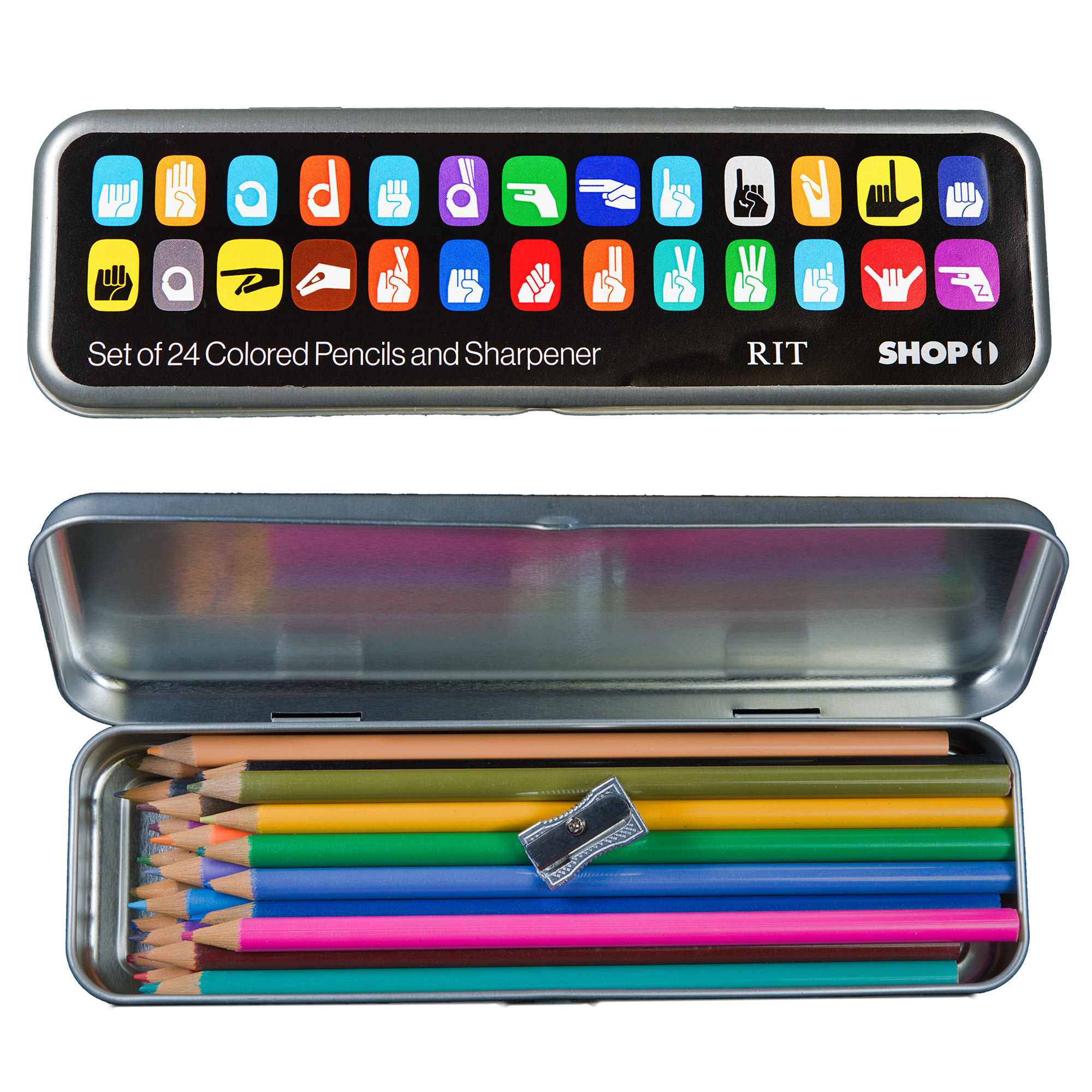Copy of Colored Pencil Set w Sharpener