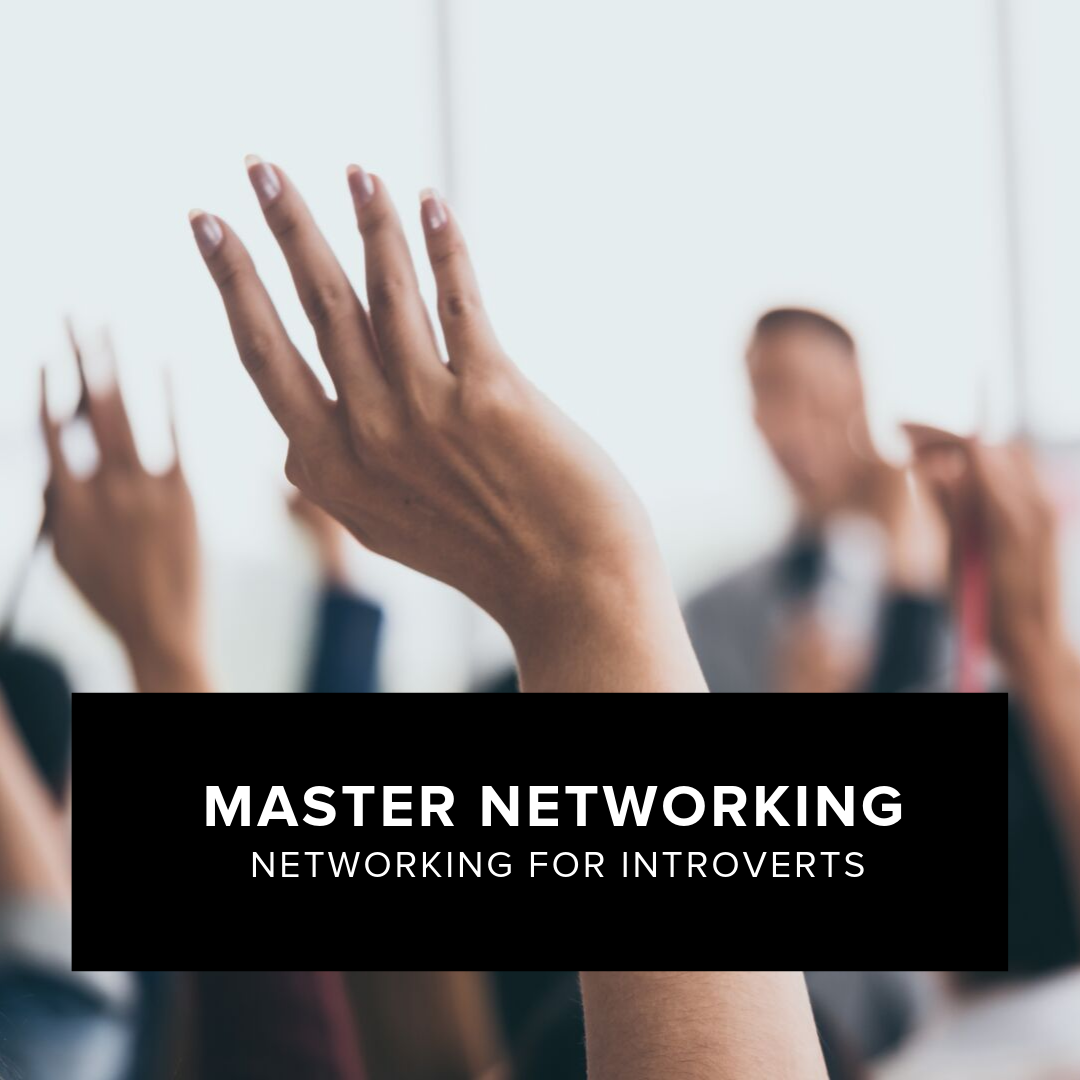 Master Networking - You don't even need to be an introvert to feel anxious at the thought of networking. Do you wish you felt more comfortable meeting new people, but feel like networking is too quick and shallow for you to do it right? Do you feel misunderstood, coming off as unfriendly without meaning to? You'll leave this workshop not only having a game plan for your future networking experiences, but also feeling more confident in yourself and your ability to make meaningful connections.a) Ease anxiety around networkingb) Initiate and carry on conversationsc) Establish rapport that is authentic to youd) Present yourself in a warm and friendly wayd) Get the most out of networking eventsAre you ready to kick off the year with a new superpower of connecting with people?Workshop conducted by Stephanie T.