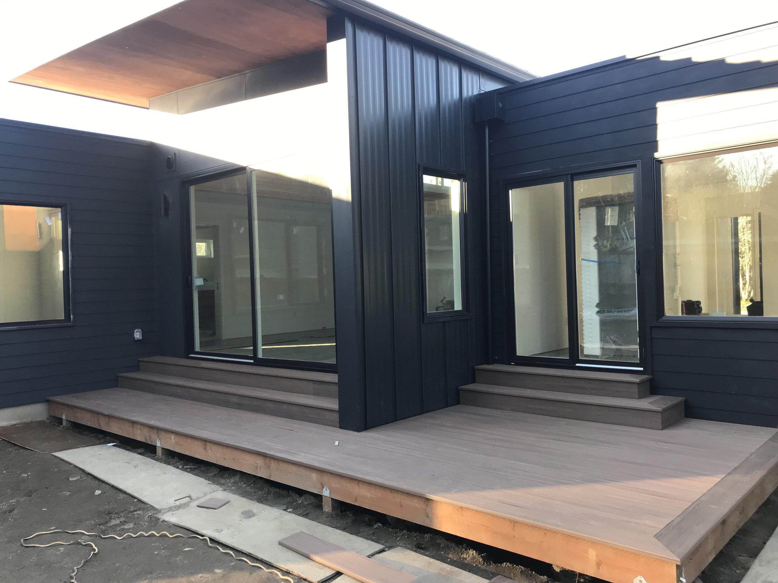 Wu-Taing Residence - A contemporary three-module prefab in Renton, WA.