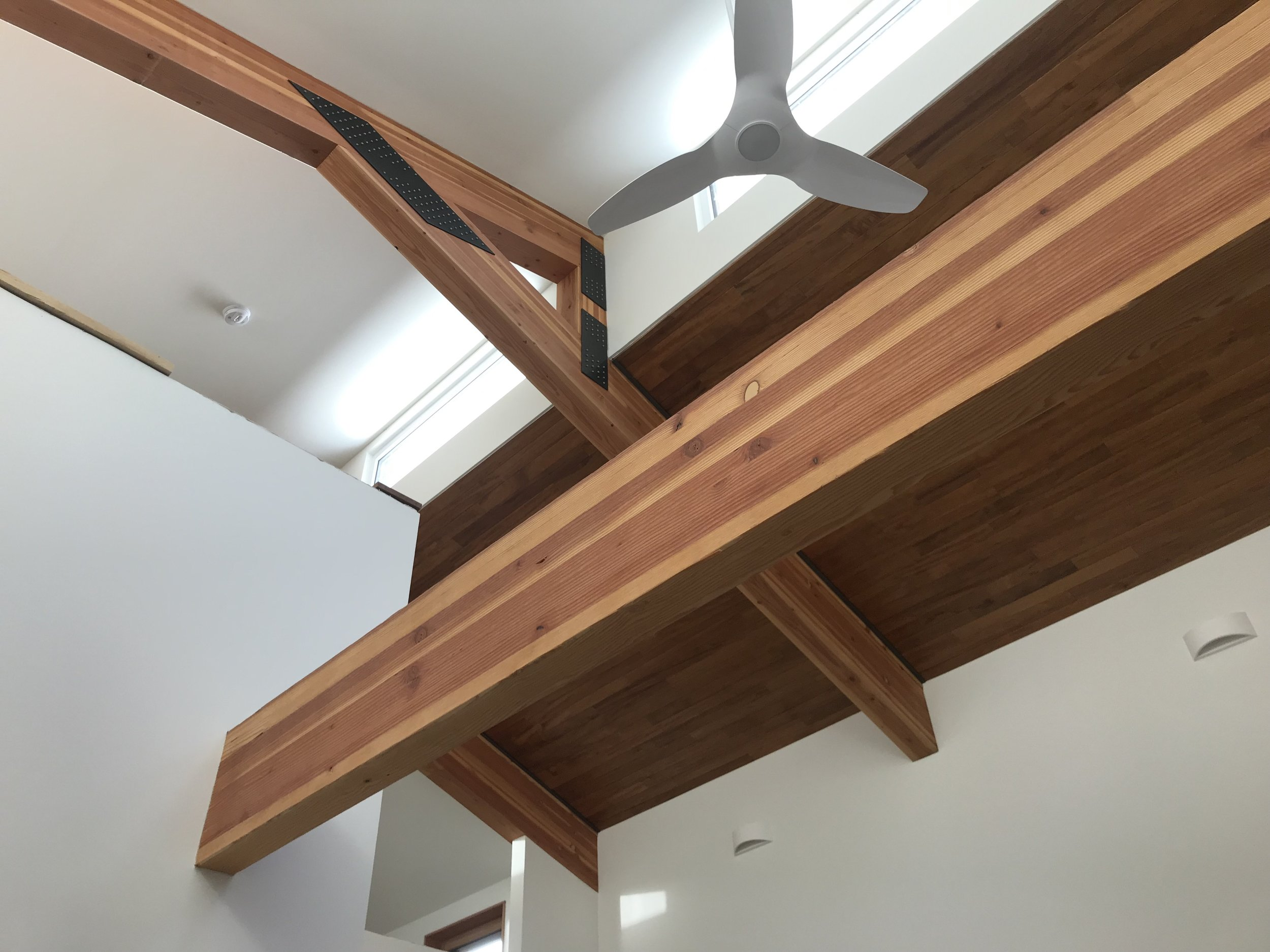 Noll Residence - A craftsman rebuild of a home on Seattle's Capitol Hill featuring structural insulation panels (SIPS).