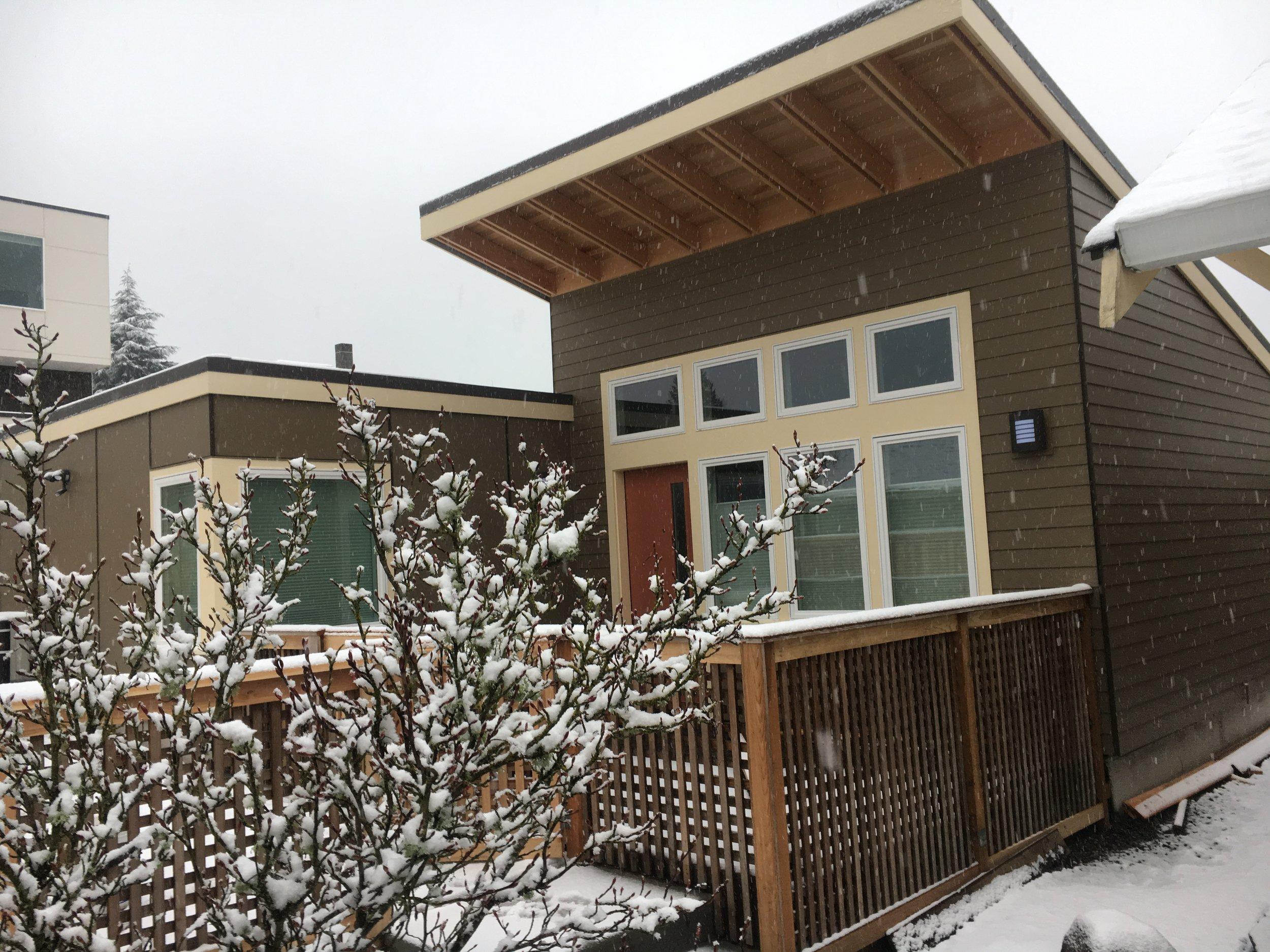Hoag Cottage - A energy-efficient 600 SF cottage.