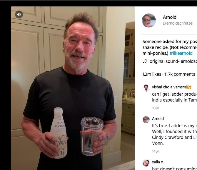 Arnold's Almondmilk of Choice