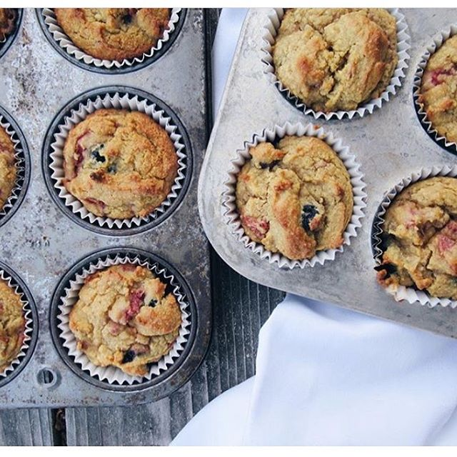 I don't know about you but we at Three Trees are obsessed with muffins and we're always trying out new and interesting recipes. This one by @petrinafrann is super healthy, uses only whole food ingredients, and is deliciously fluffy.  Perfect for berry season. Do you have a favorite muffin recipe?  Share it with us using #threetreesfoods and we'll pick a few to feature on our page.  Enjoy!  Berry Muffins 2 ½ C almond flour 1 tsp baking soda ¼ tsp sea salt ¼ C unsweetened apple sauce ⅓ C unsweetened Three Trees Almondmilk ¼ C maple syrup 1 TBSP vanilla extract ⅓ C coconut oil 2 pasture raised eggs or flax eggs ½ C your favorite berries  Note: if the batter is too runny, add more flour.  You want the batter to be thick and moist.  Directions: Preheat oven to 350 degrees Add all ingredients into mixing bowl except the berries Combine all ingredients, then fold in berries Line muffin pan and fill Bake for 25 minutes or until golden + clean toothpick  #plantbaseddiet #plantbased #plantpowered #bestofvegan #vegetarian #eatclean #cleaneating #plantbasednutrition #dairyfree #eatrealfood #mindfuleating #eatrealfoods #wholefoodplantbased #dairyfreerecipes #dairyfreeliving