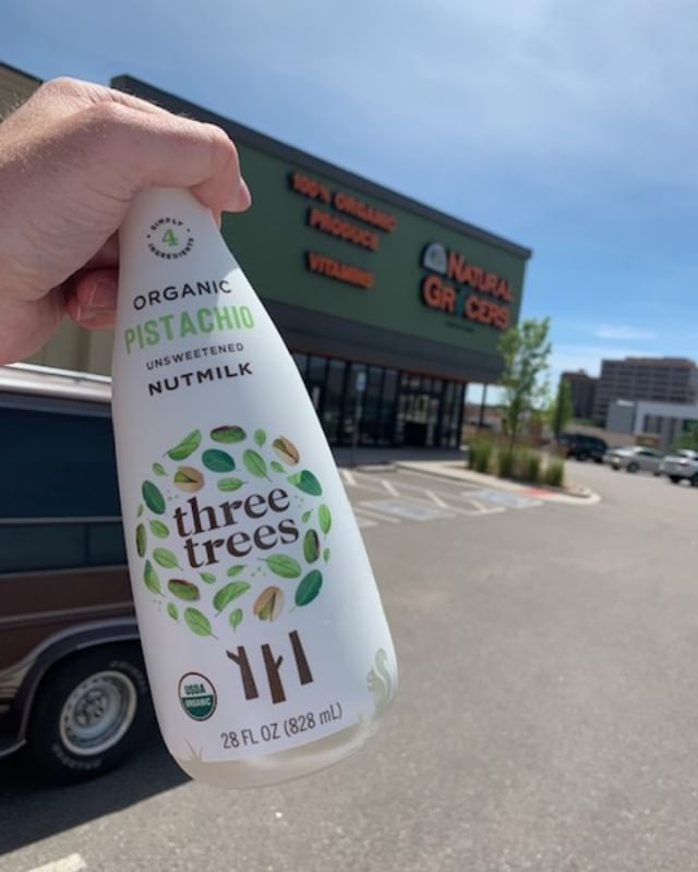 On shelf at a NGVC Natural Grocer Vitamin Cottage near you!  Cool off this summer with the hottest in plant-based milks.  Look for the Black Sesame Milk, too!