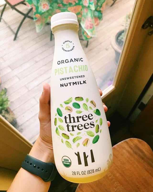 We're glad you're loving it Suzi 🙌🏽 #Repost @madebysuzi_ ・・・ Just tried @threetreesfoods Organic Pistachio Nutmilk and it's honestly amazing💚  #threetreesfoods #nutmilk #pistachiomilk #foodie #food #foodblogger #travel #travelblogger #blogger #teenblogger #vegan #vegetarian #boston #wholefoods #foodiegram #sponsorme #notsponsored