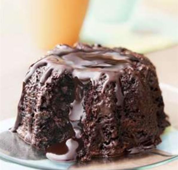 Molten Chocolate Bundt Cake