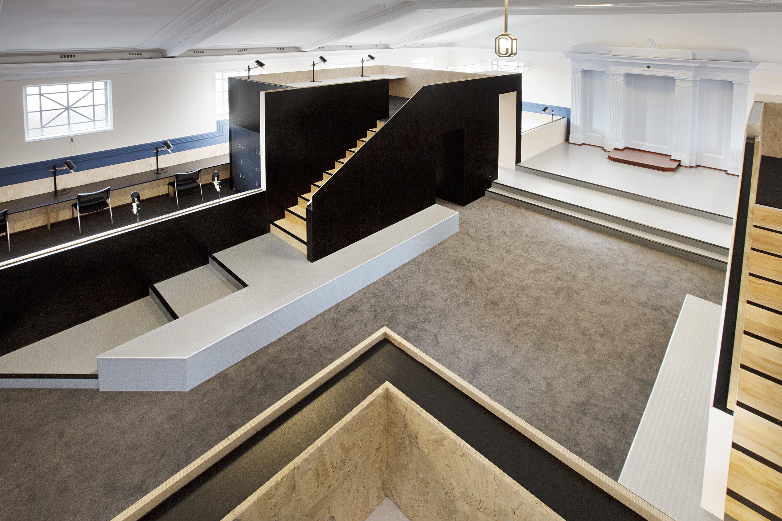 Lee Syminton IQX UWA | Masonic Hall Interior