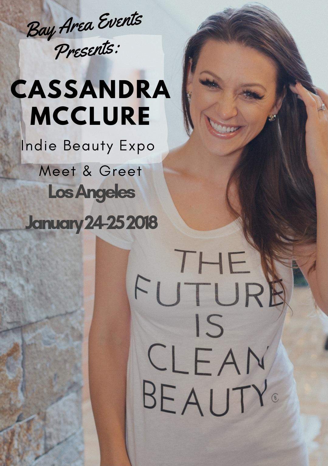 Indie Beauty Expo's clean beauty makeup artist - Los Angeles meet & greet January 24, 25