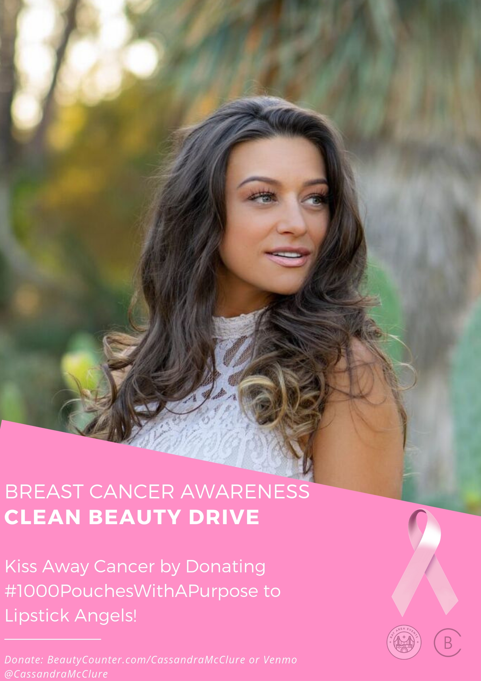Clean Beauty Drive for Lipstick Angels - Hosted by Cassandra McClure