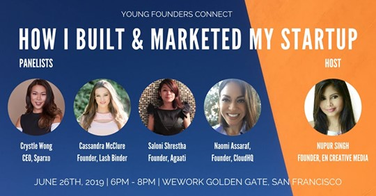 Young Founders Connect Panelist - San Francisco, Ca