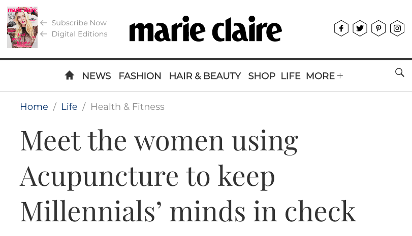 the elements project marie claire