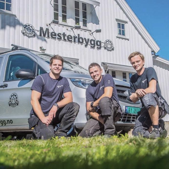 Mesterbygg er spesialister på renovering av store og små bygg. De er gode på kommunikasjon og leverer alltid god kvalitet.  @mesterbygg.no