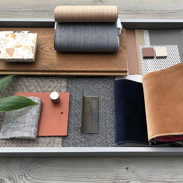 Nytt kontorprosjekt på vei! #interiørarkitekt#interiørarkitektur#kontorinteriør#moodboard#texture#interiørnerd