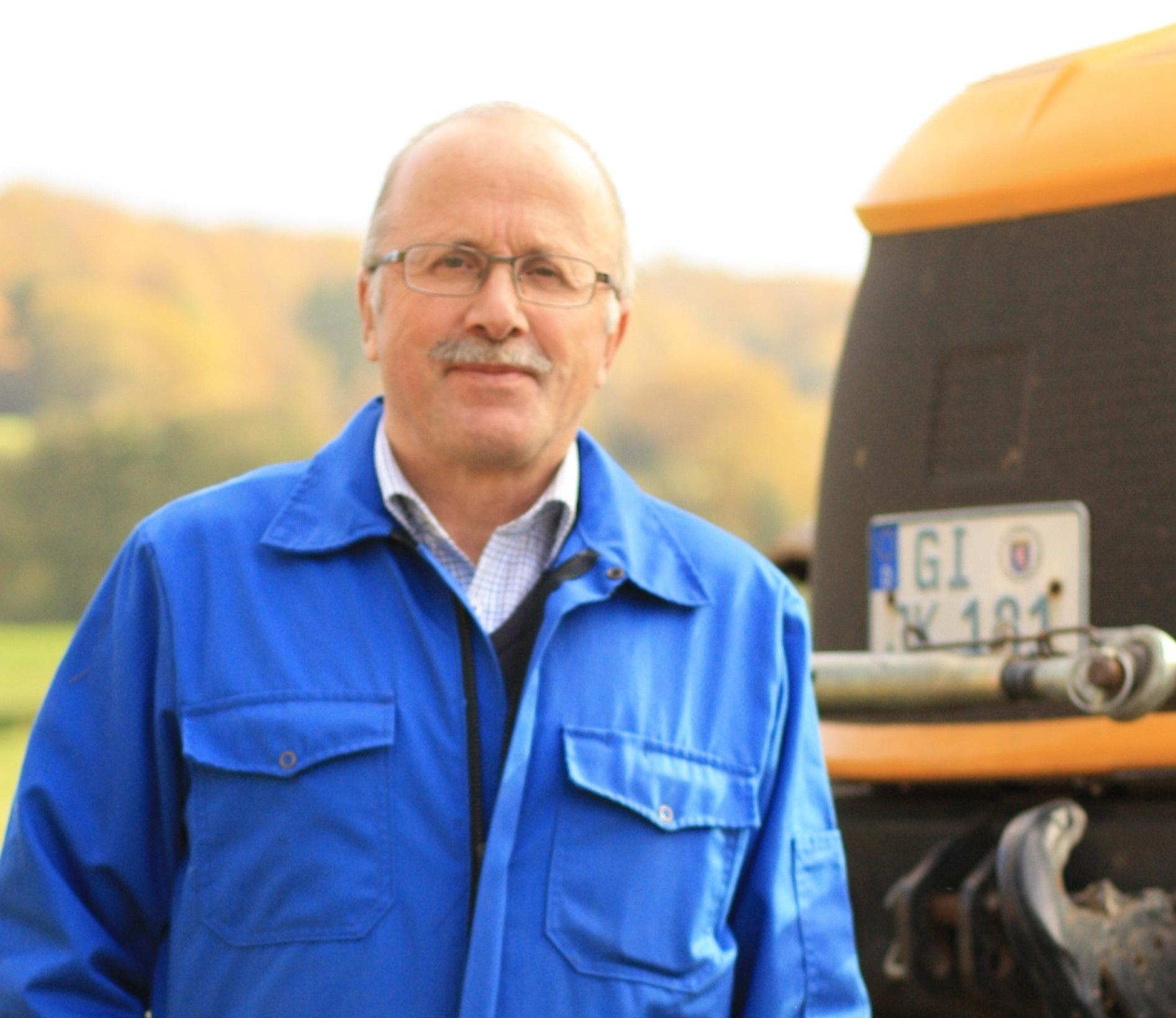 Dietmar, responsable gestion des partenaires et de l'agriculture