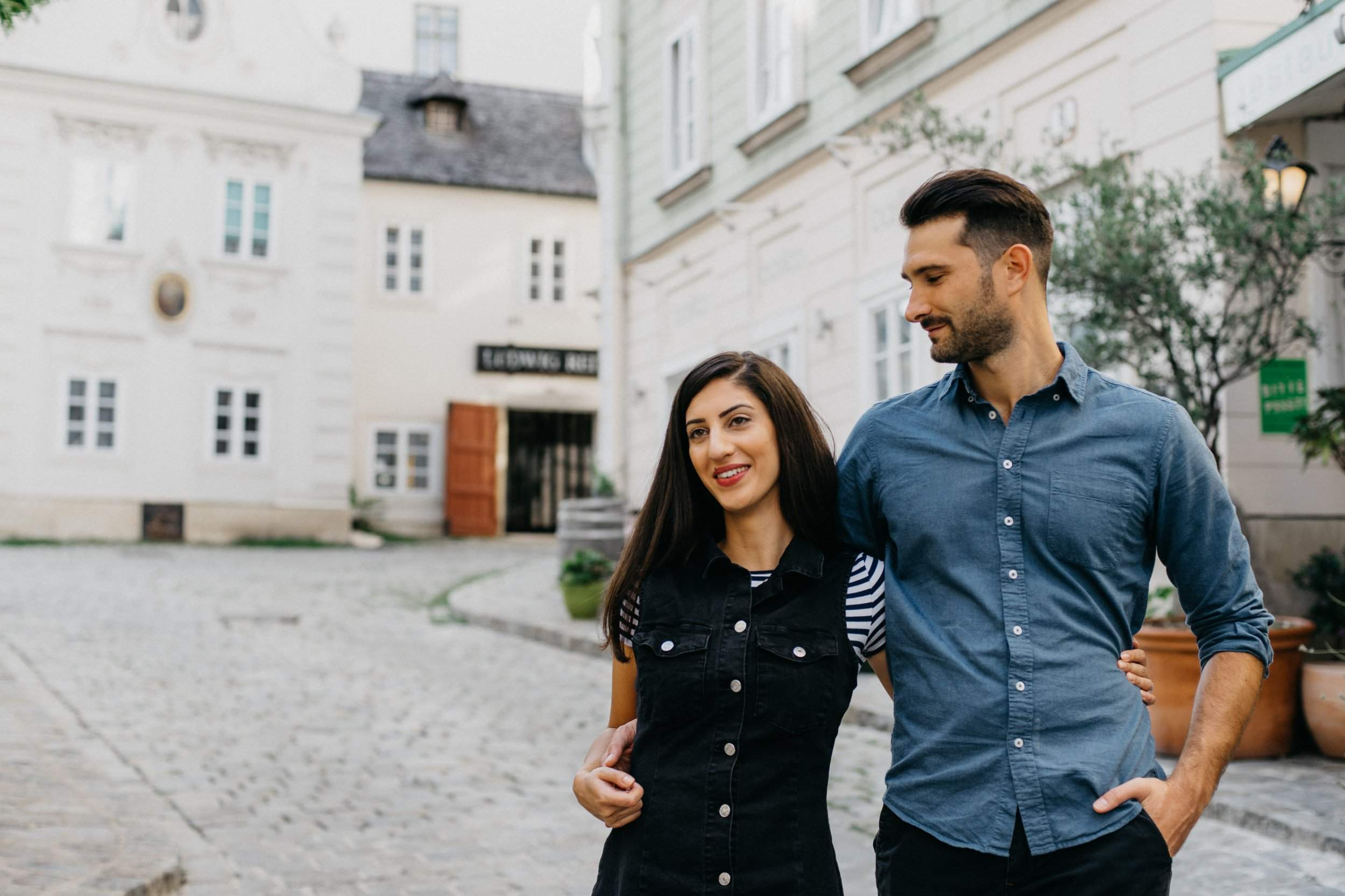 Verlobung shooting in Wien