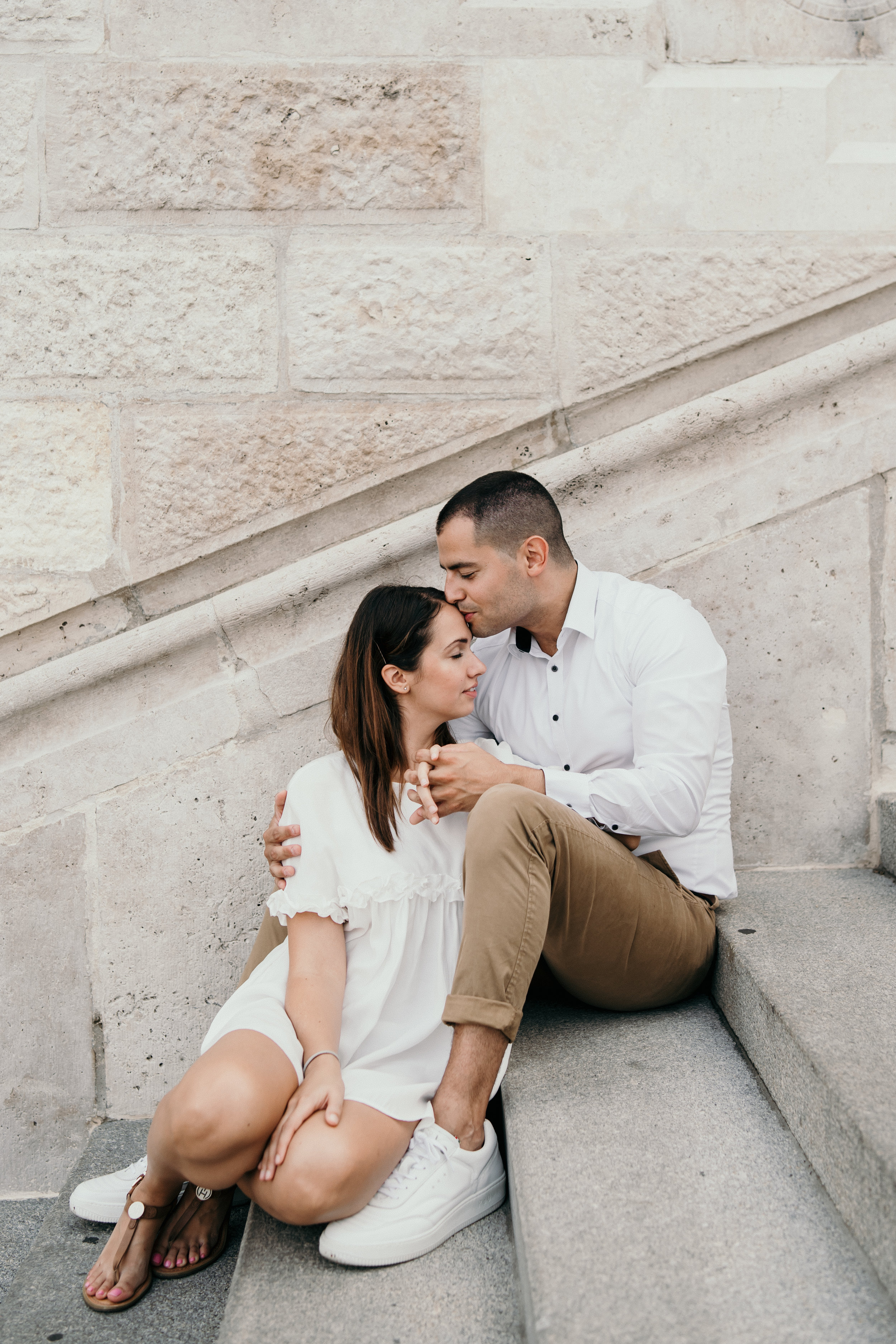 Budapest engagement session