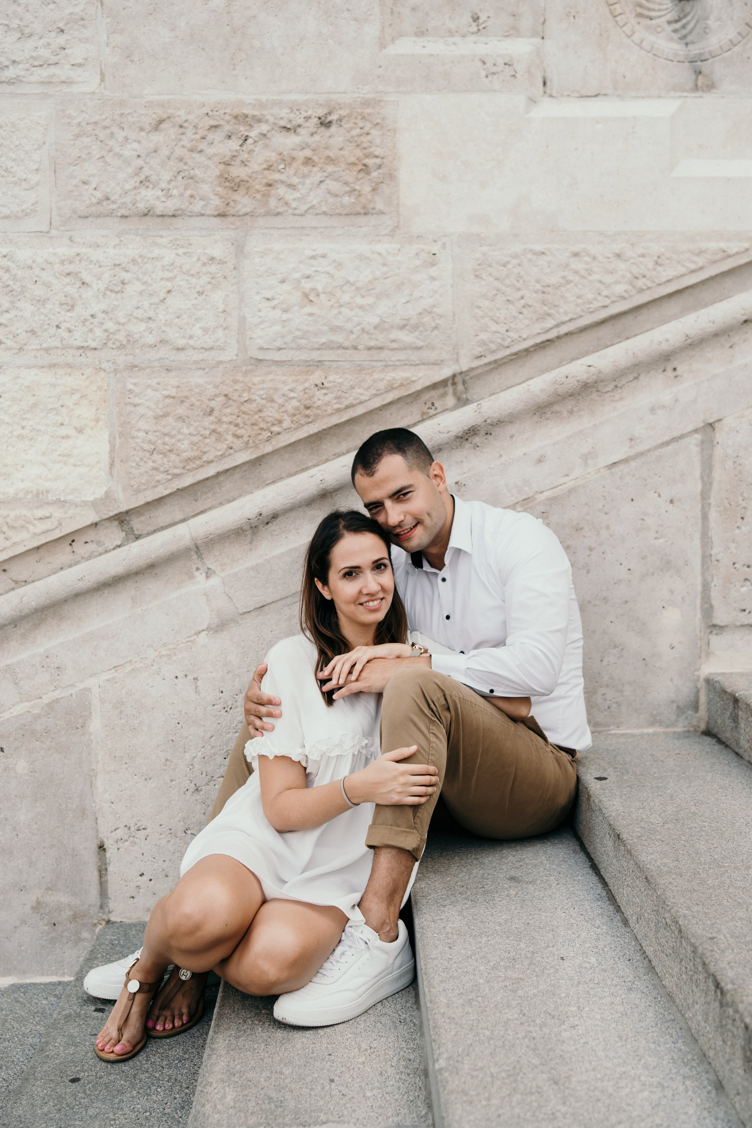 Engagement session in Budapest