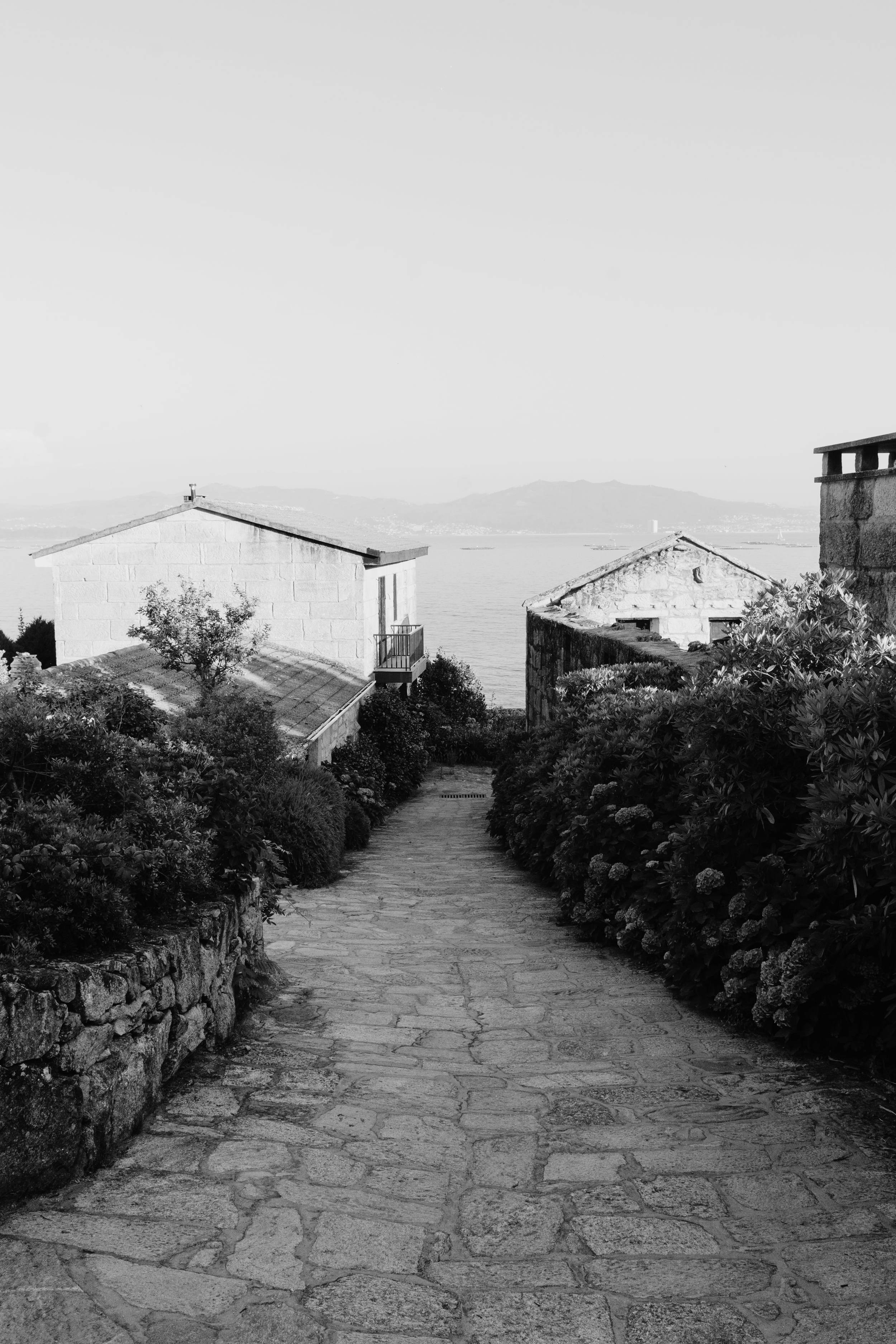 un calle viaje en galicia