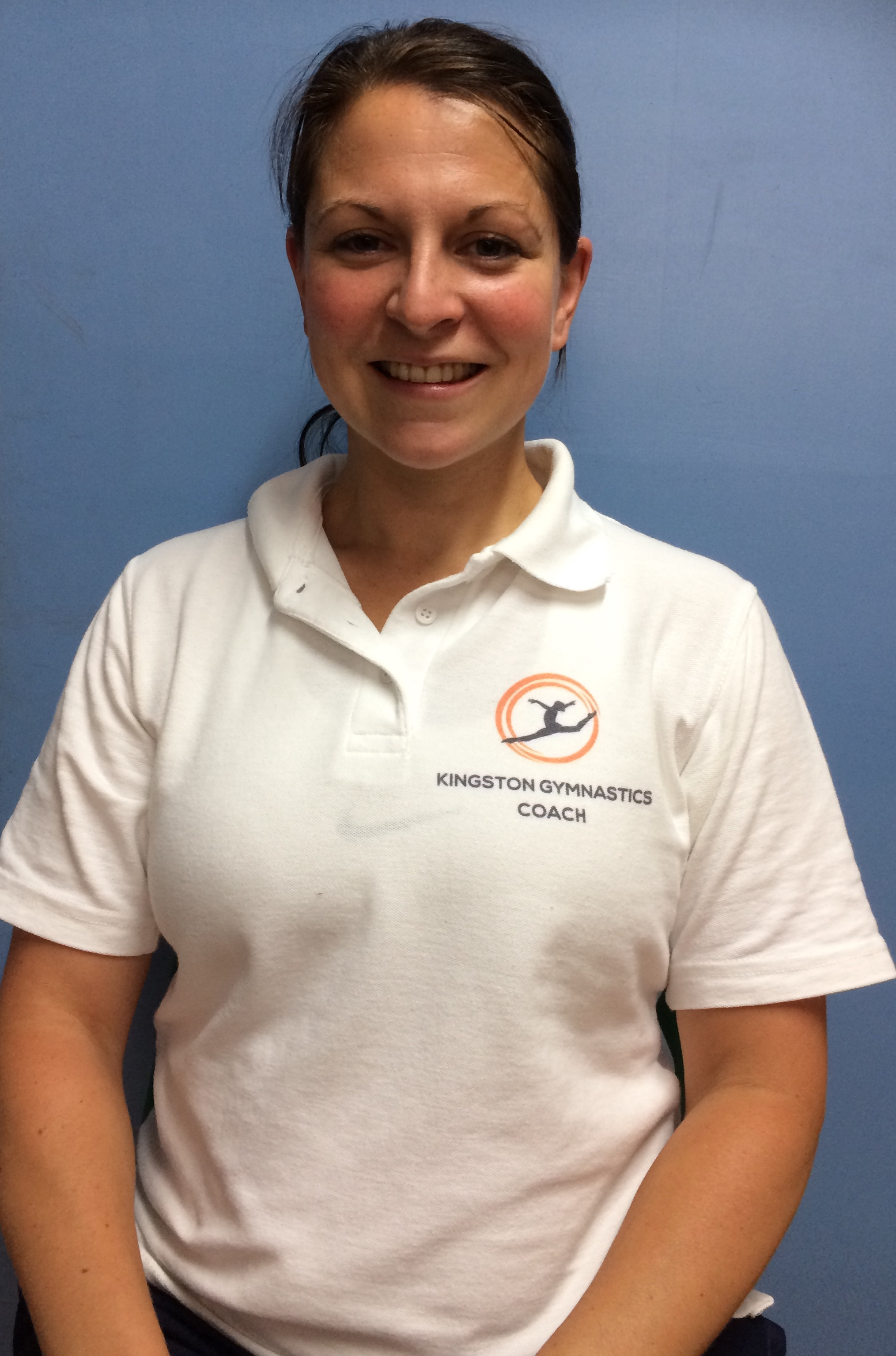 Rebecca - Head coach. - Qualifications: Level 3 Gymnastics and Trampoline Coach, Qualified PE Teacher, Child Protection and Safeguarding course, British Gymnastics: Time to Listen Course, DBS Checked, 3 Day First Aid at Work Certificate
