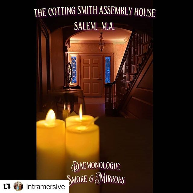 #Repost @intramersive (@get_repost) ・・・ We are so excited to be partnering with the Peabody Essex Museum @peabodyessex for our Seance.  We will be bringing history to life in the Cotting Smith Assembly House. Shown here in gorgeous candle light #🕯 We need your help to decorate it. Visit our profile for a link to our Indiegogo to get exclusive access to pre-sale tickets and VIP experience.  #intramersive #immersive #immersivetheater #theatre #larp #rpg #escaperoom #historicalinterpretation #witchesofistagram #actor #larpersofinstagram #theatre #salem #salemmassachusetts #immersivetheatre @creativecollectivema @creativenorthshore #creativecollective #historicalinterpreter #1800 #seance #haunting #horror #historical @no_proscenium @indiegogo #crowdfunding