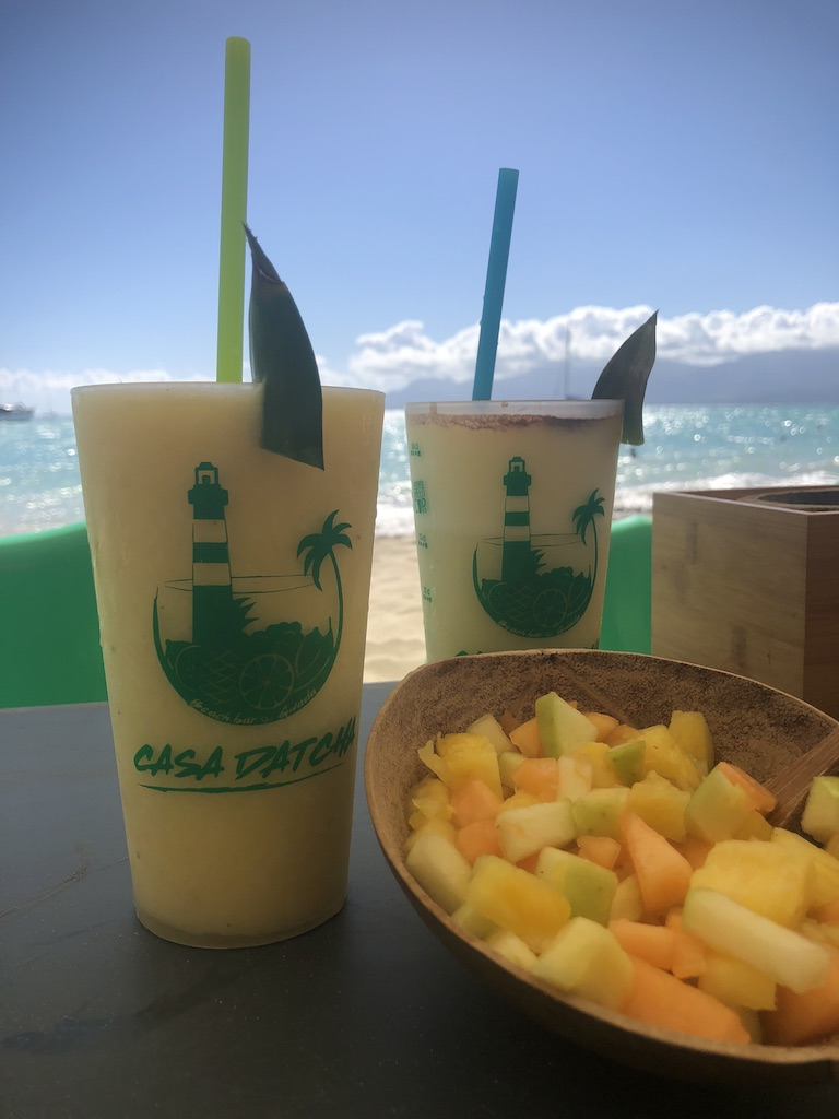 Pina Coladas La Datcha Guadeloupe Caribbean Travel Tips