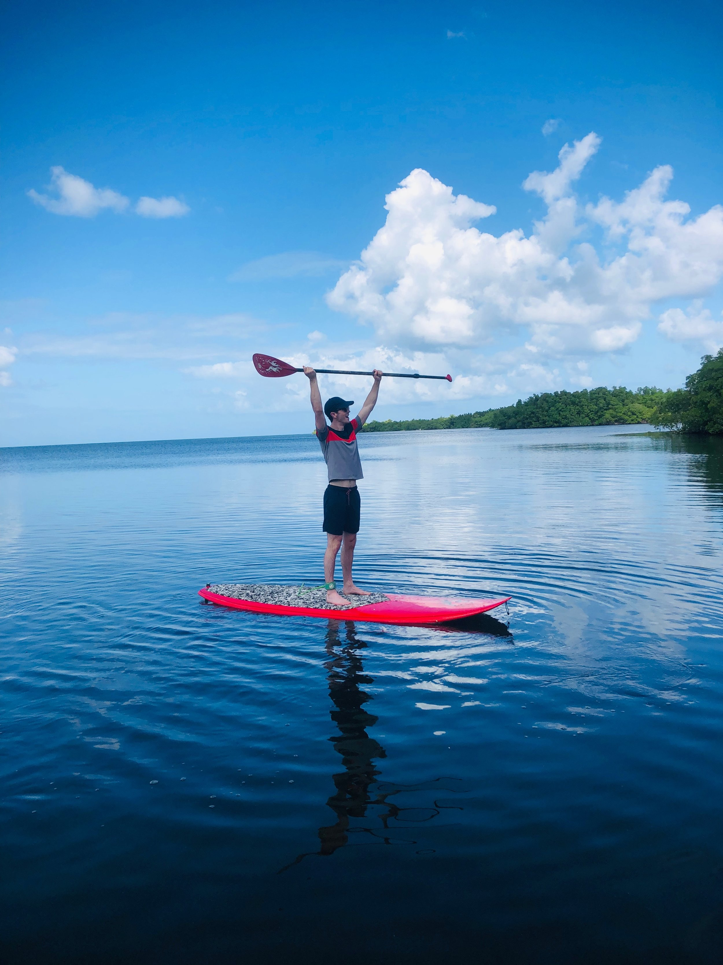 Plague de Babin Paddle boarding guadeloupe travel activities
