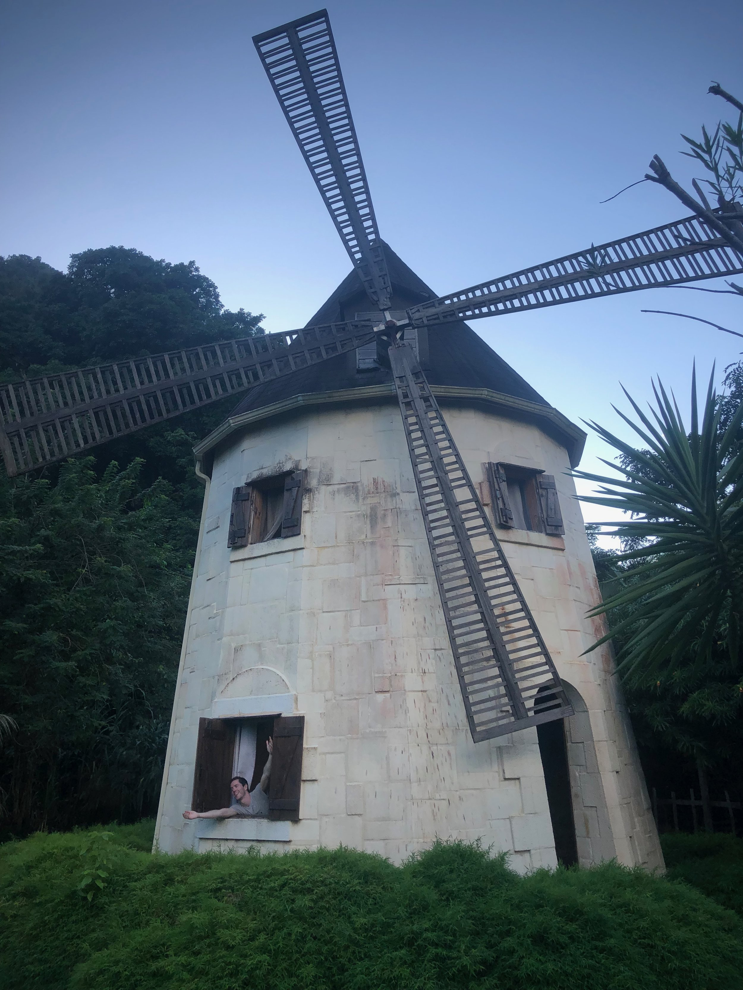 Windmill Guadeloupe Vacation Airbnb Travel