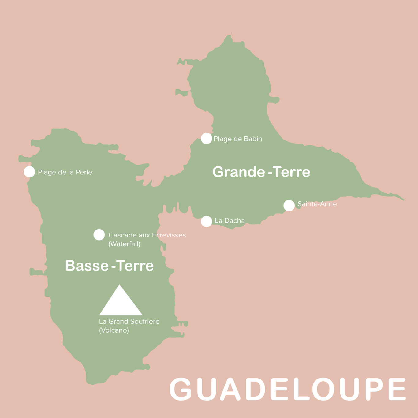 guadeloupe-map things to do in guadeloupe