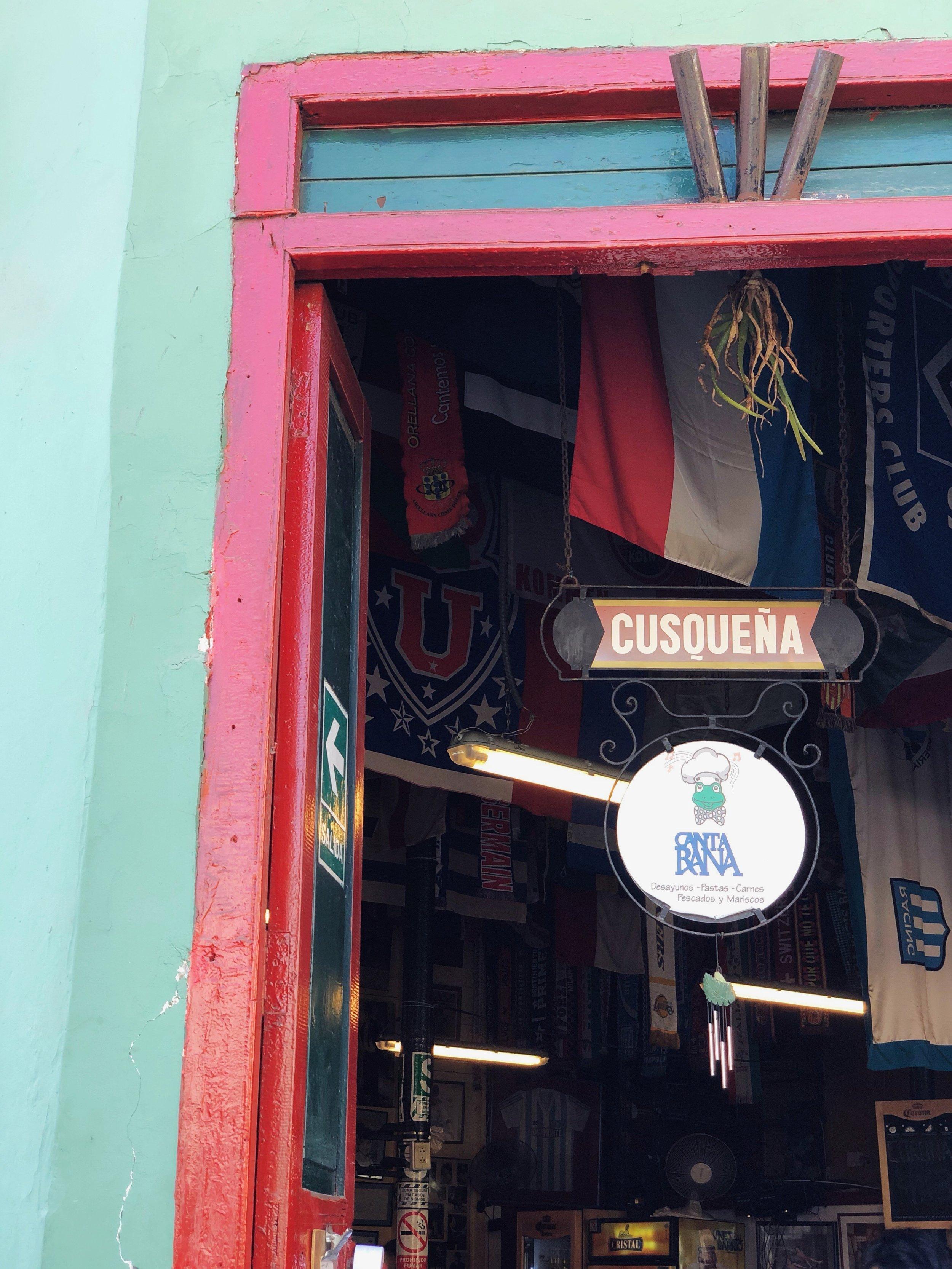 canta rana-lunch-food-south america-peru-lima-barranco