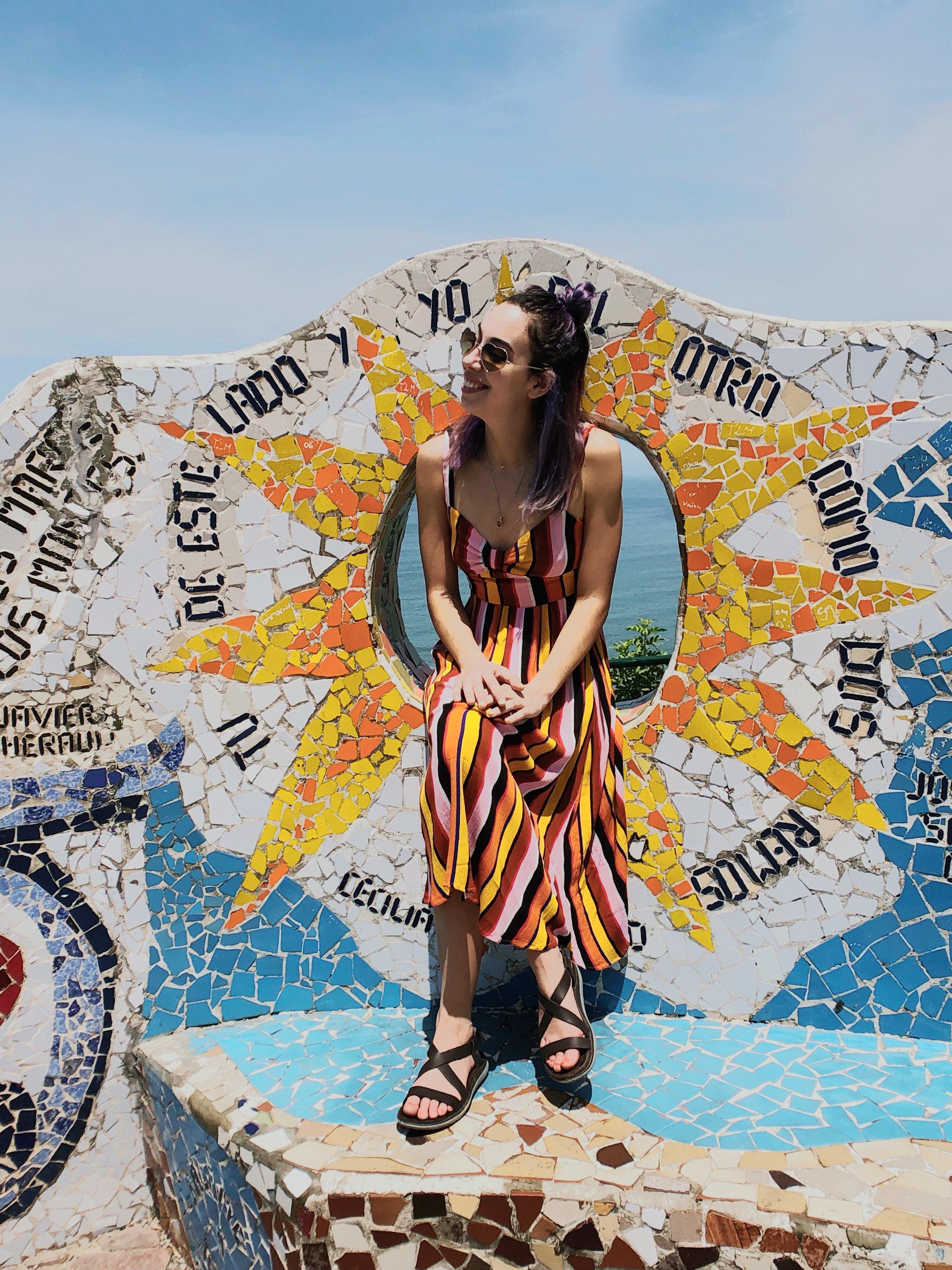 Miraflores-malecon boardwalk - lima - peru - parque del amor - travel tips - south america