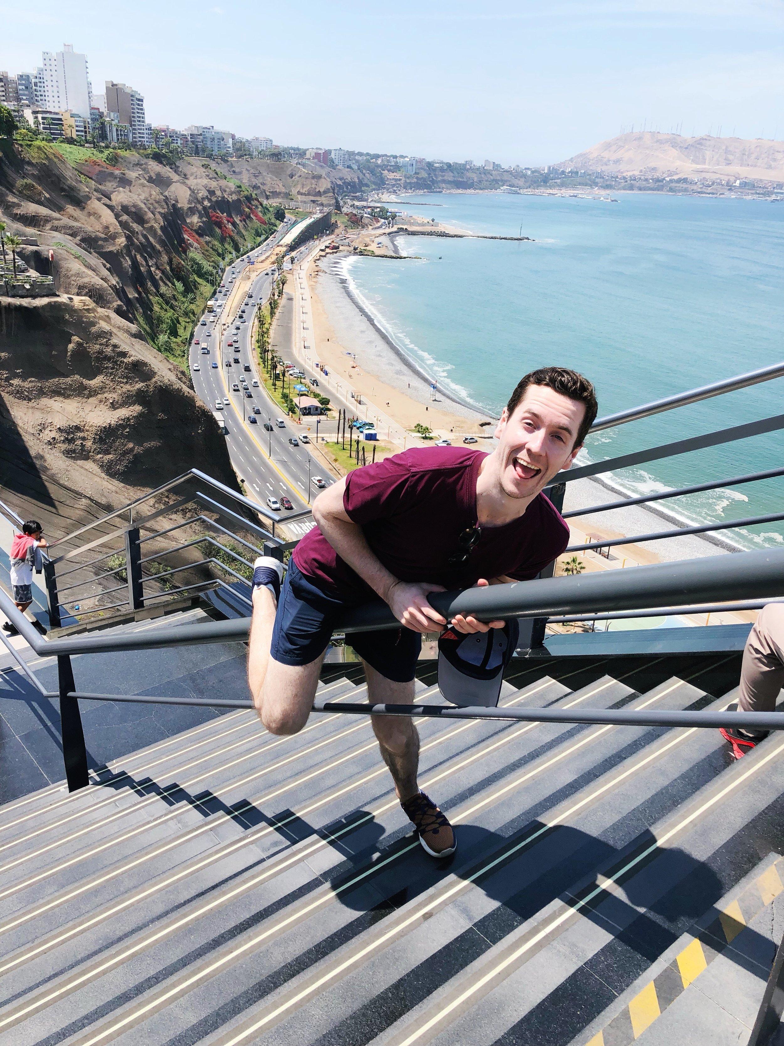 Miraflores-malecon boardwalk - lima - peru  - travel tips - south america