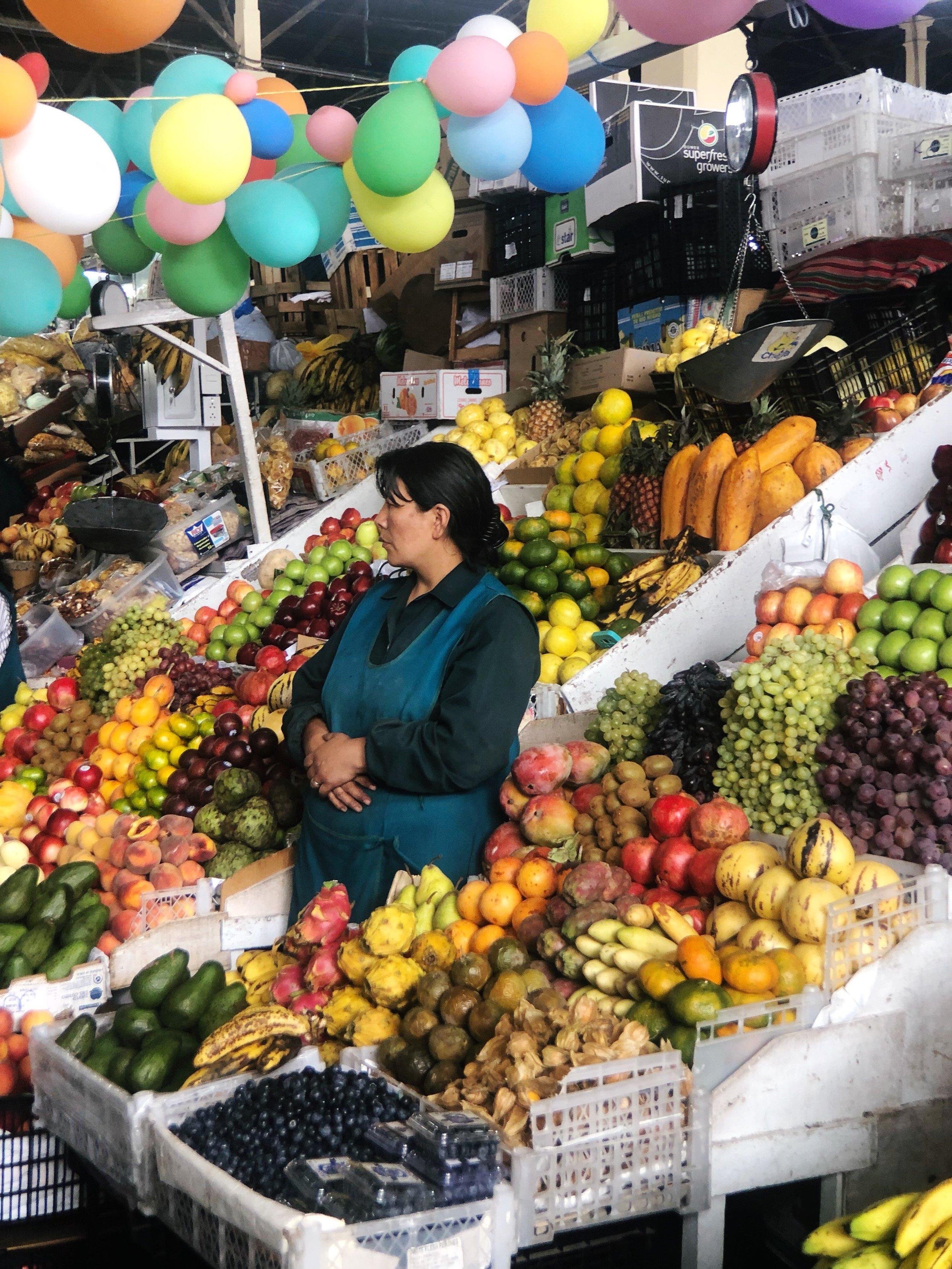 san pedro market-cusco-peru-shopping-food-textiles-south america- travel tips-2
