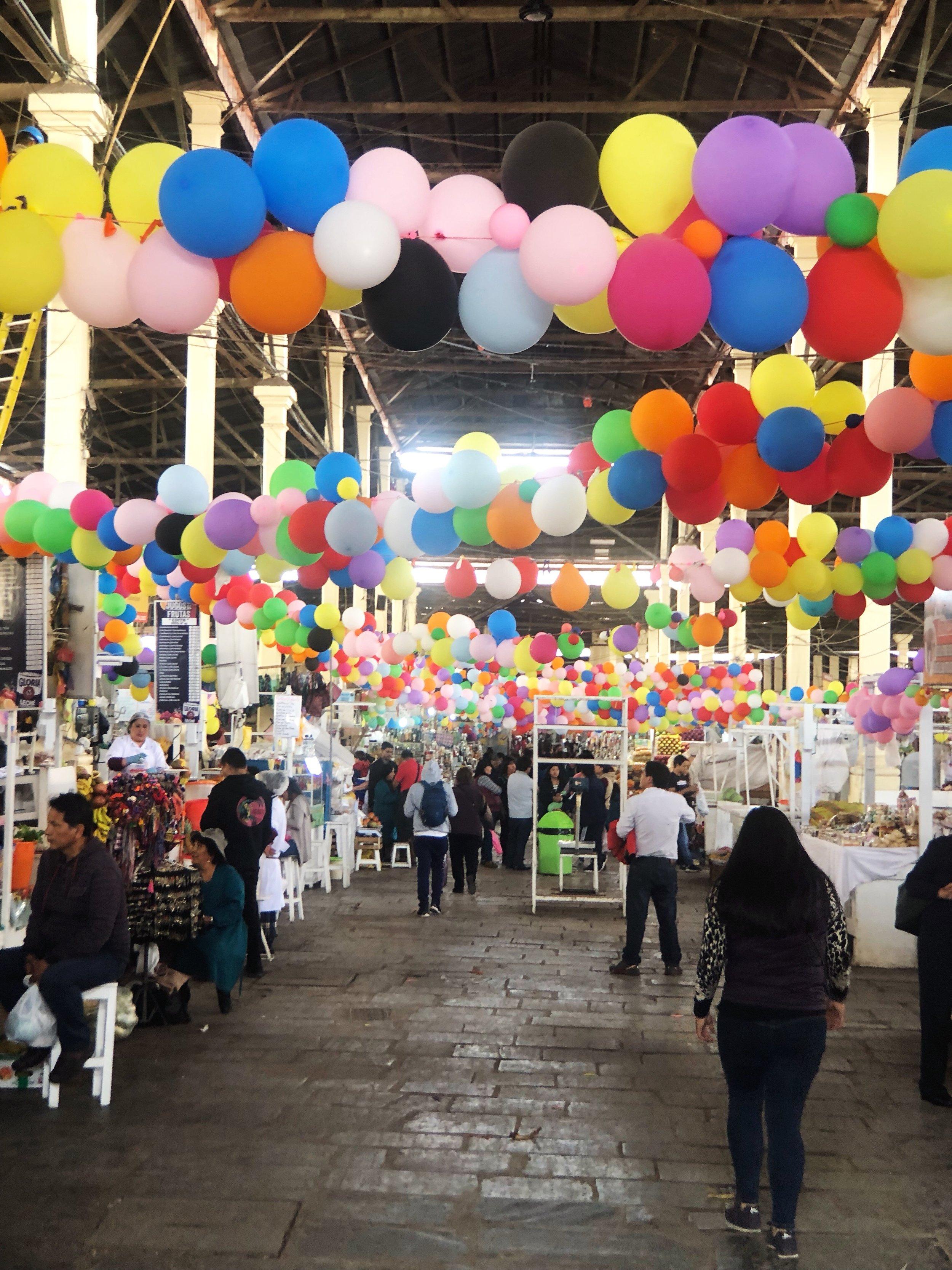 san pedro market-cusco-peru-shopping-food-textiles-south america- travel tips