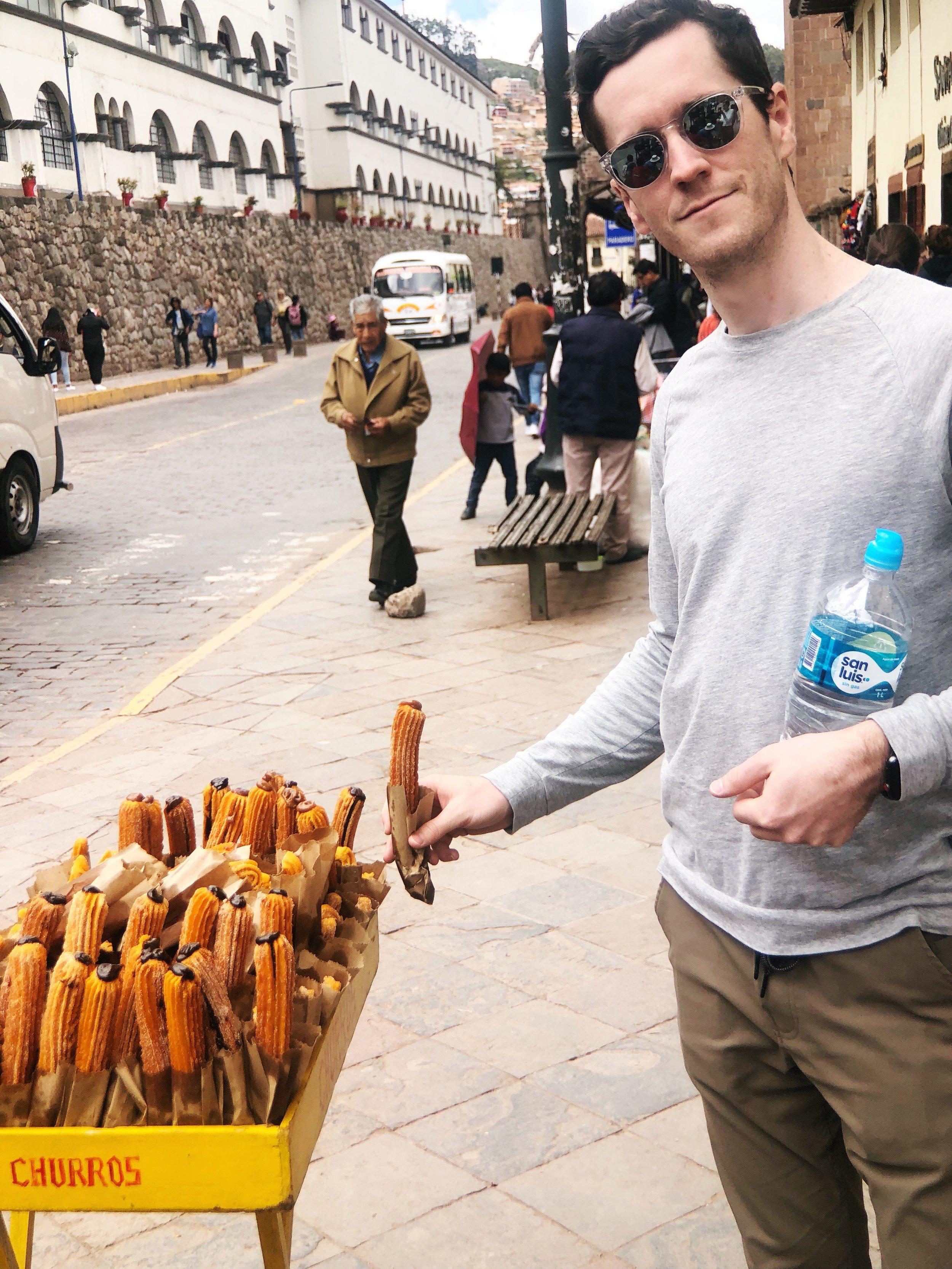 churros-cusco-peru-south america - food- travel tips