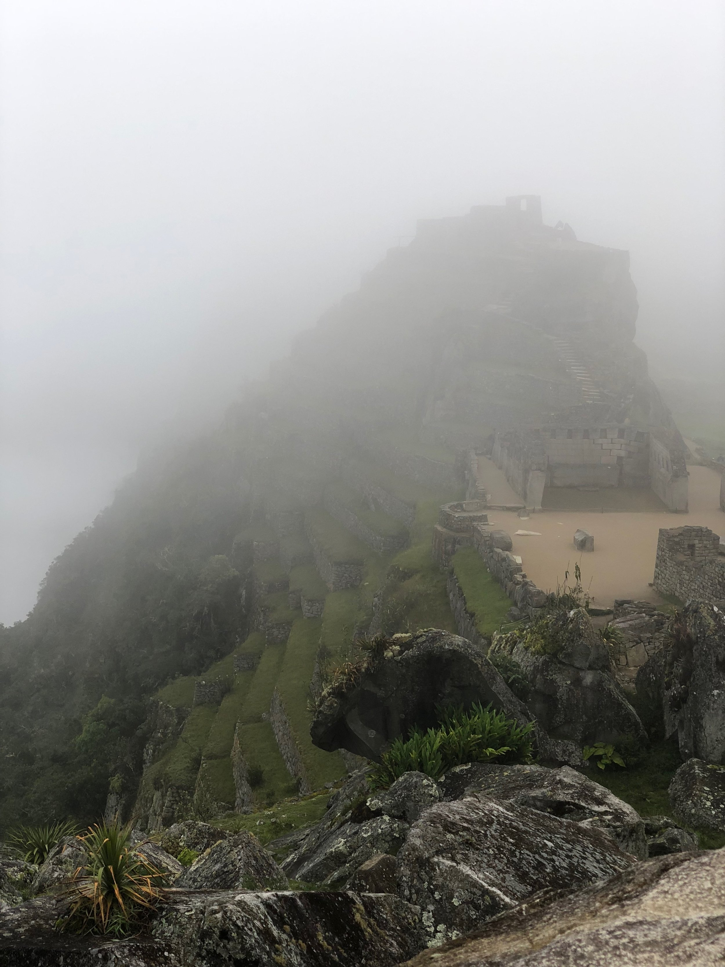machu picchu - aguas calientes - south america - travel tips - fog