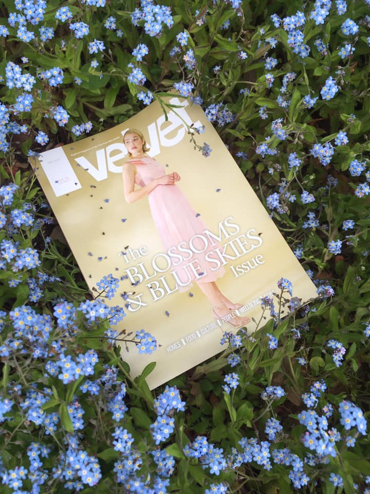 Read the full article on page 23 of Velvet Magazine's May Edition, 'Blossoms and Blue Skies'.