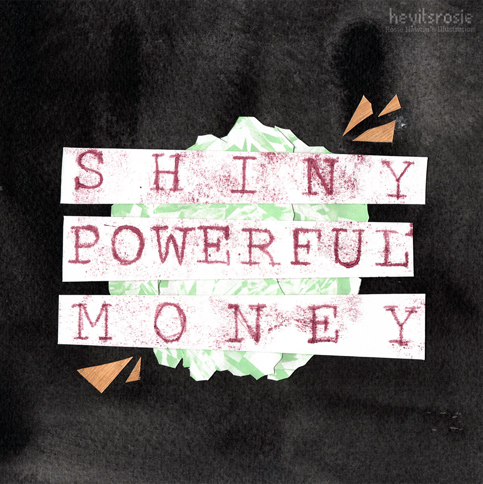 Shiny Powerful Money Book Cover