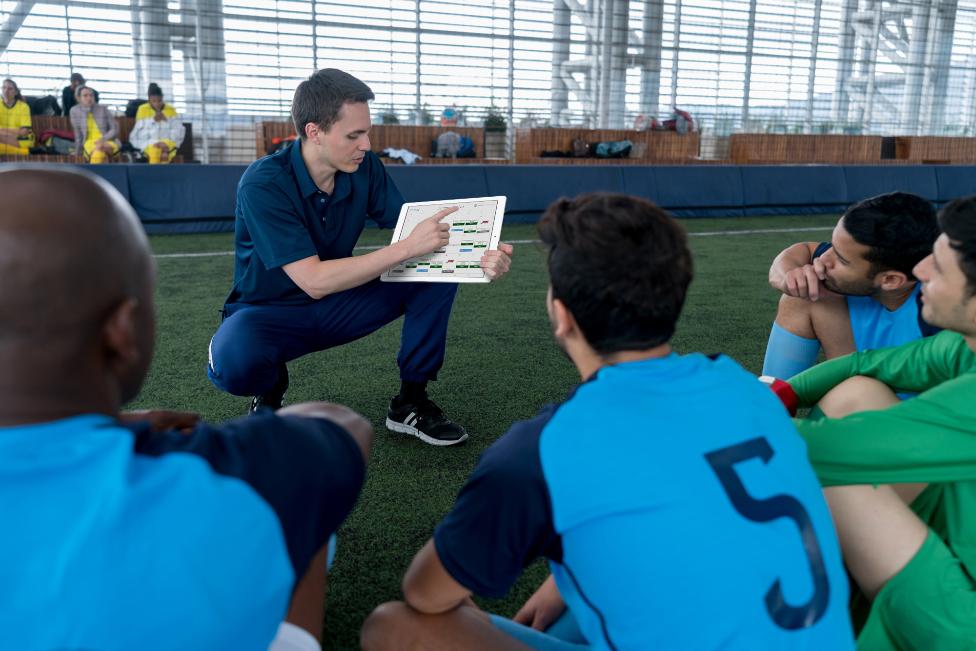 Communication - Have a clearer form of communication with your players. Each player has access to your teams planner, providing access to their schedule, session plans, training and match footage, developmental reports and much more.