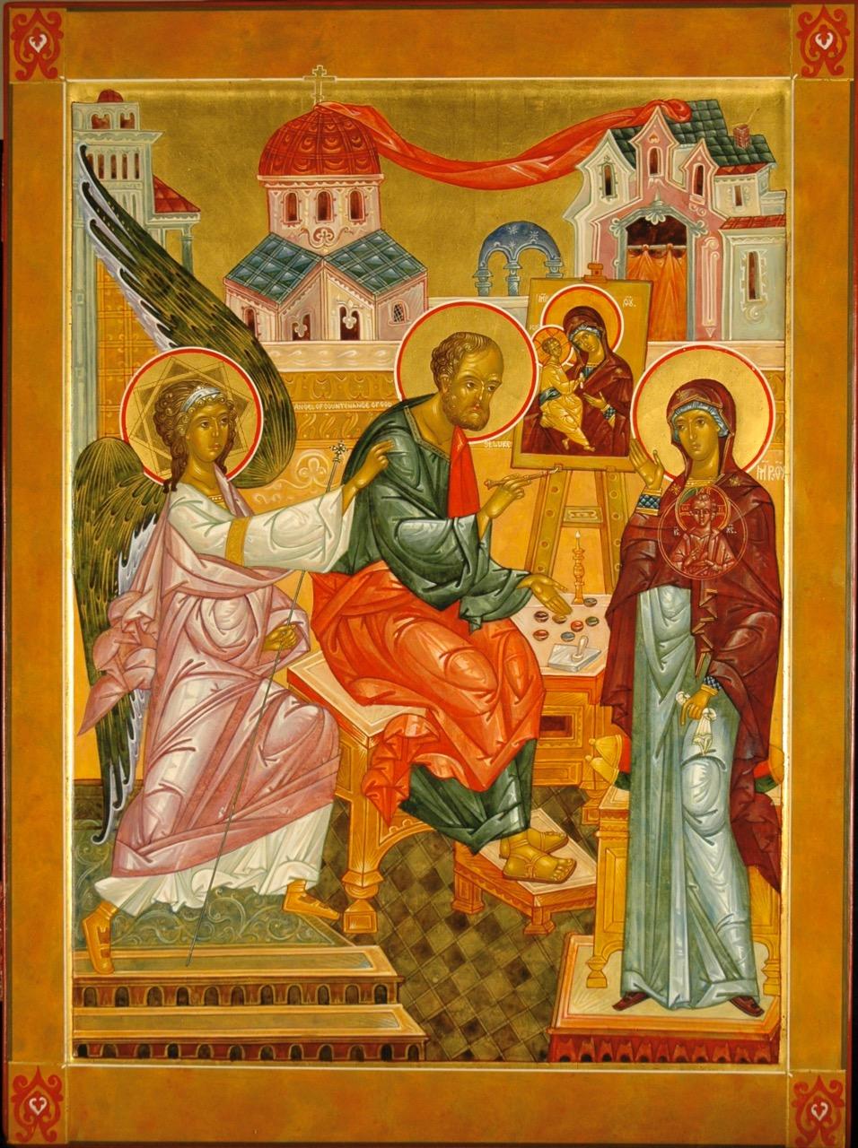 St Luke the Proto-Iconographer