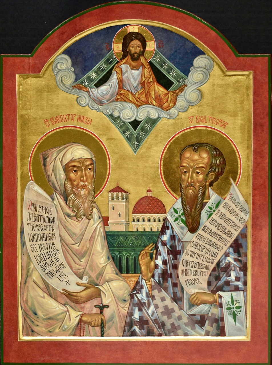 Sts Benedict of Nursia and Basil the Great
