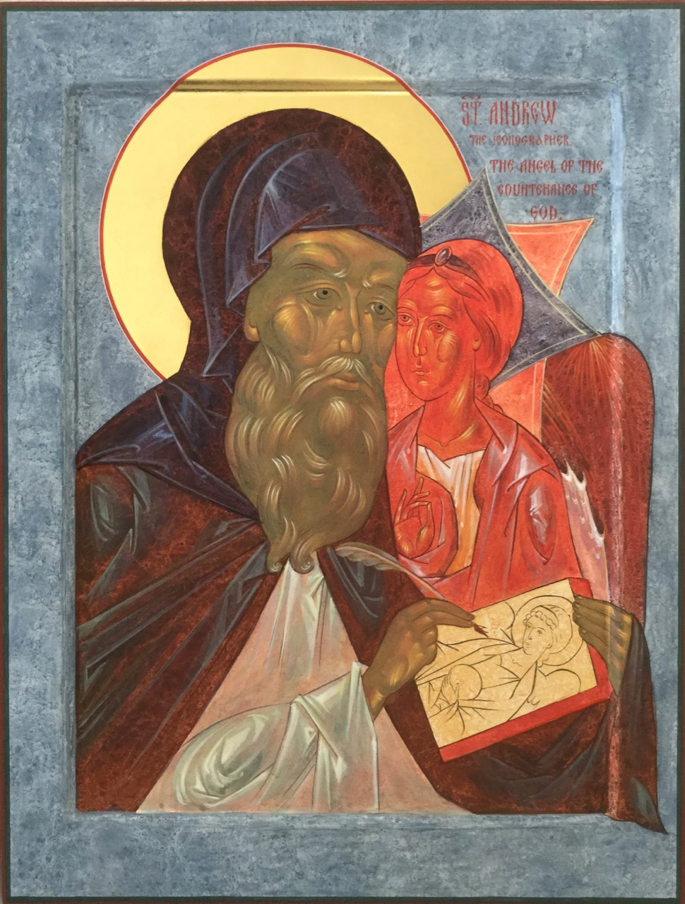 St Andrei Rublev, the Iconographer